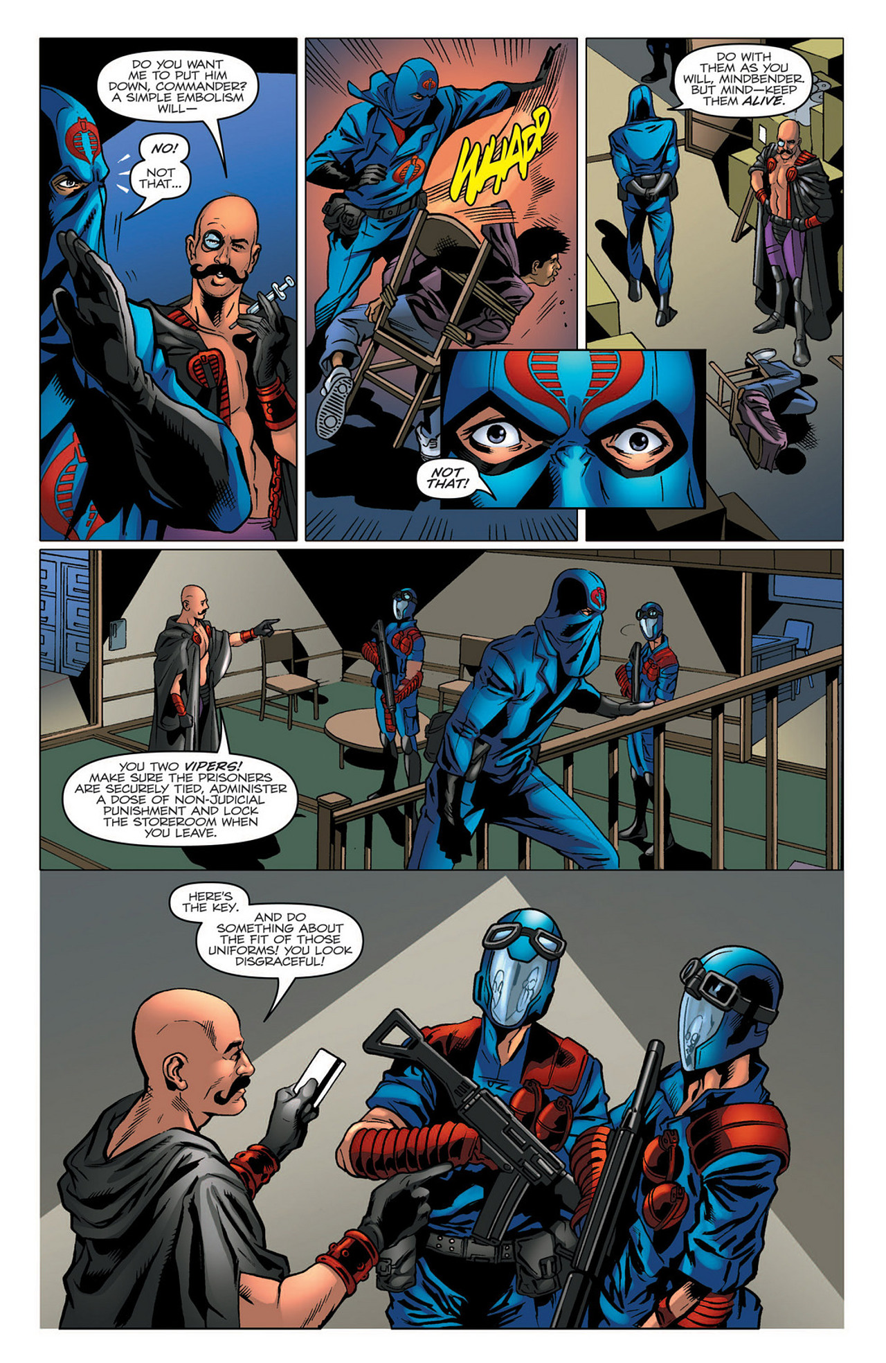 G.I. Joe: A Real American Hero 184 Page 6