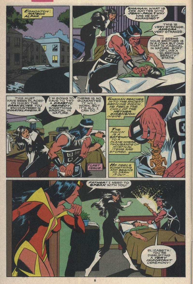 Read online Alpha Flight (1983) comic -  Issue #84 - 7