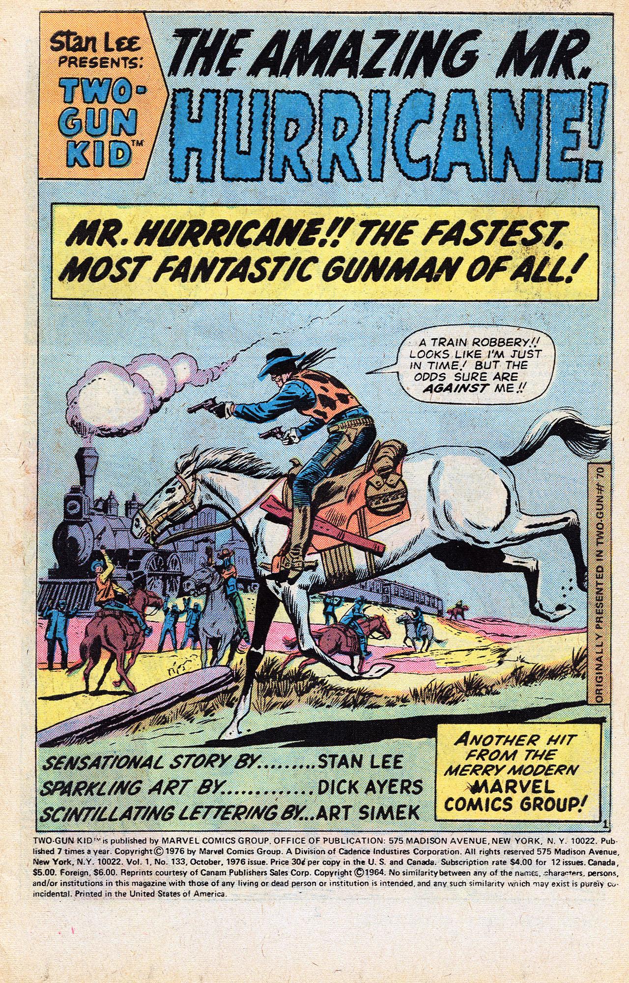 Read online Two-Gun Kid comic -  Issue #133 - 3