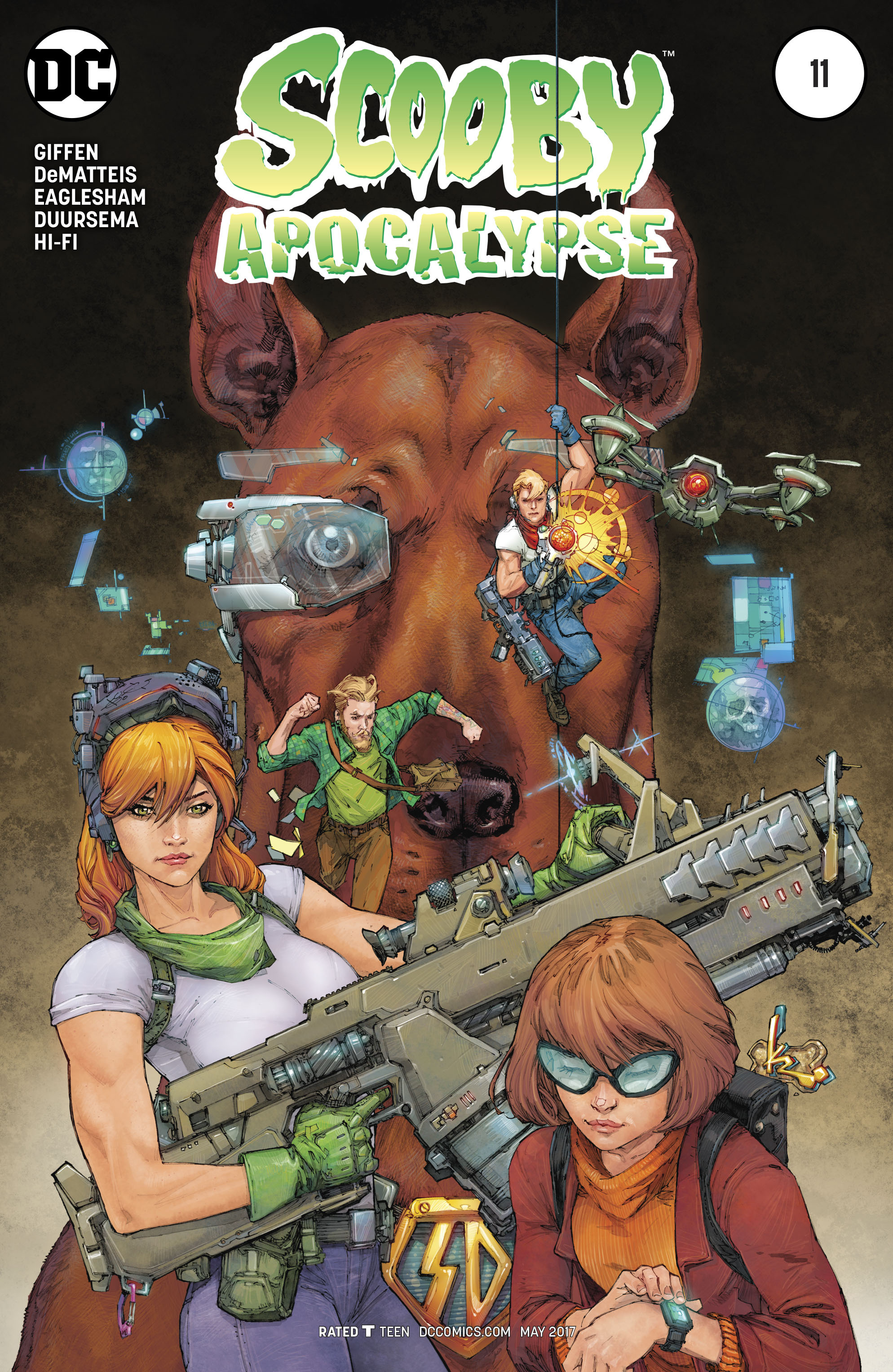Read online Scooby Apocalypse comic -  Issue #11 - 3