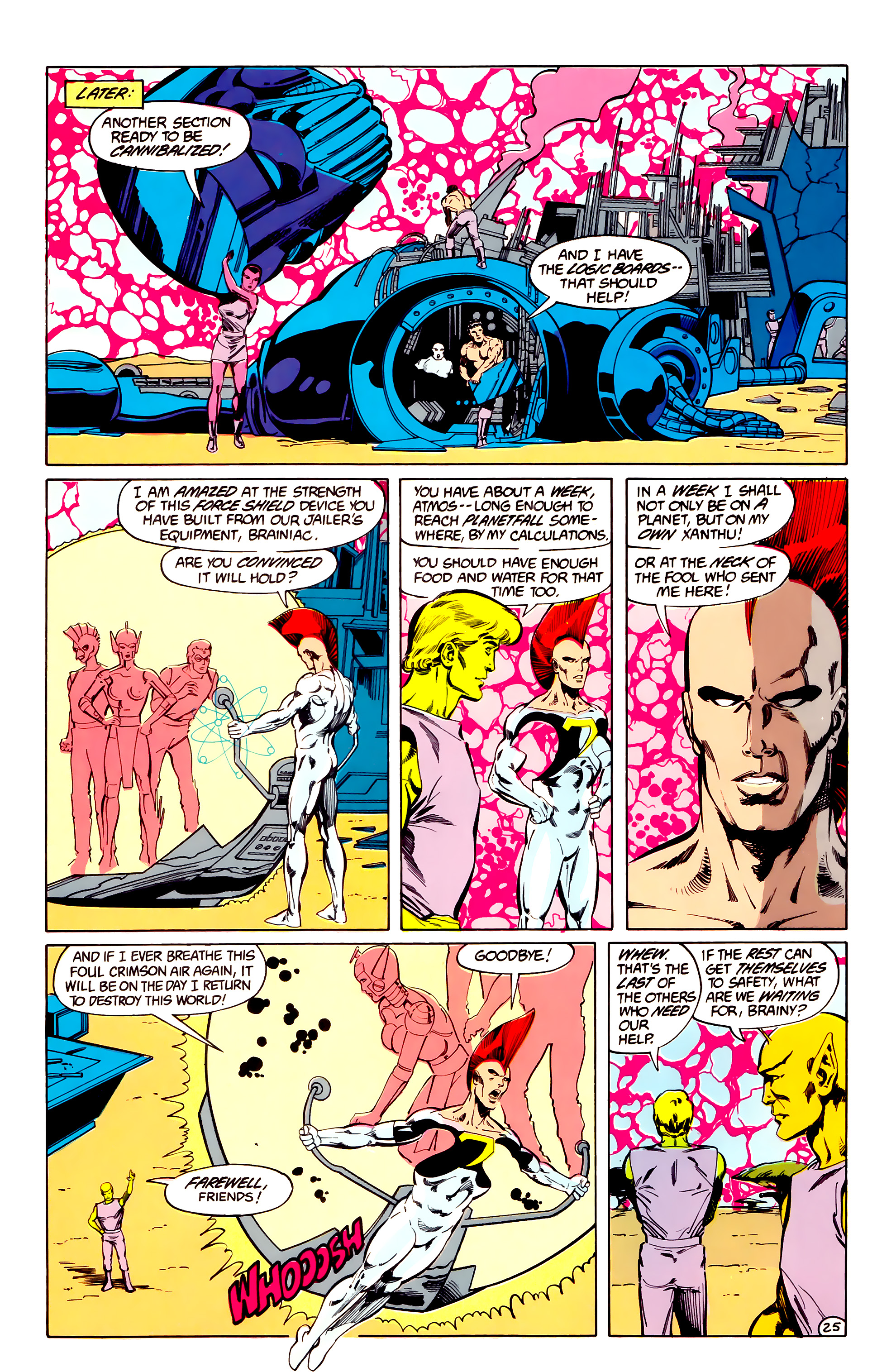 Legion of Super-Heroes (1984) 33 Page 25