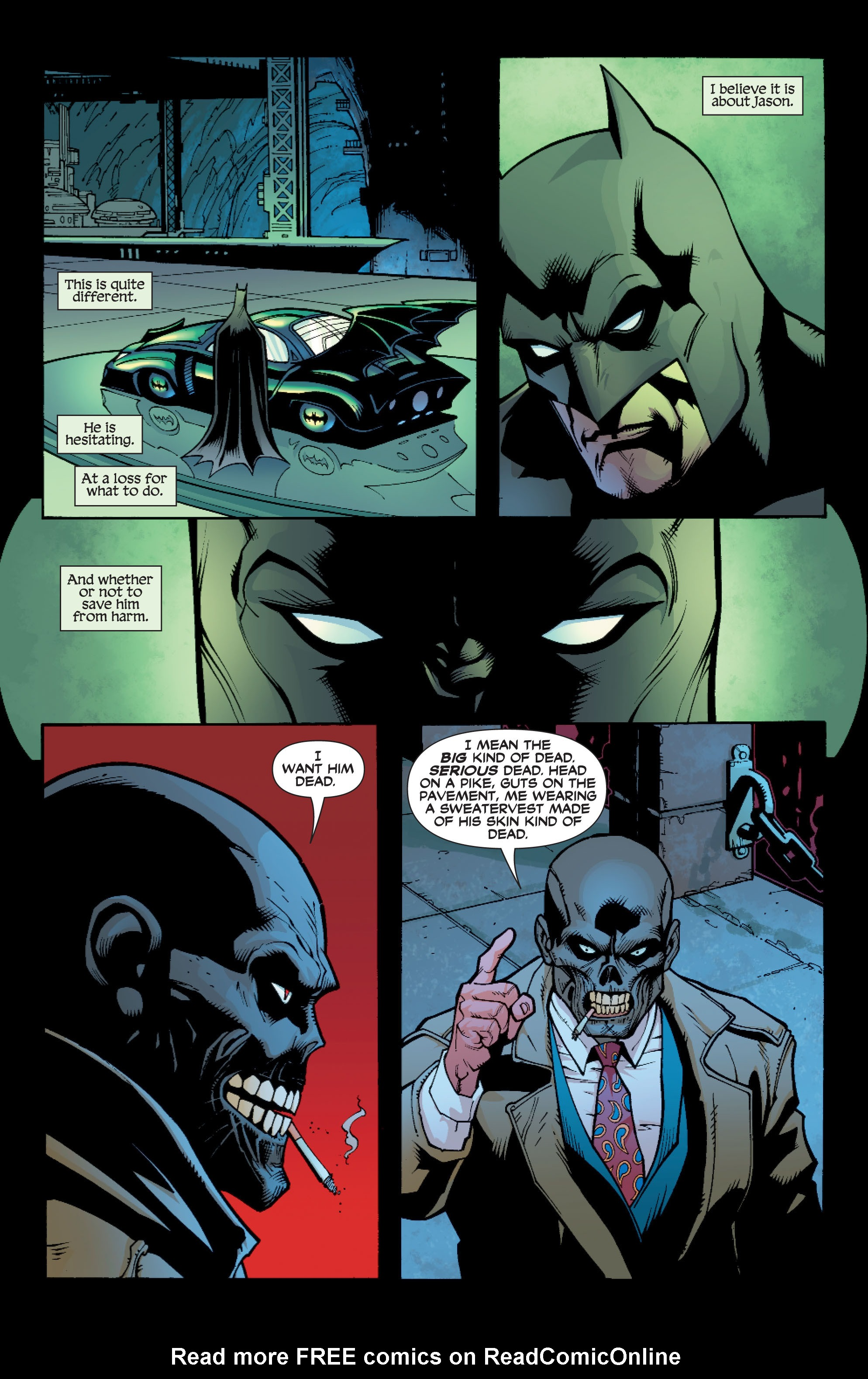 Read online Batman: Under The Red Hood comic -  Issue # Full - 224