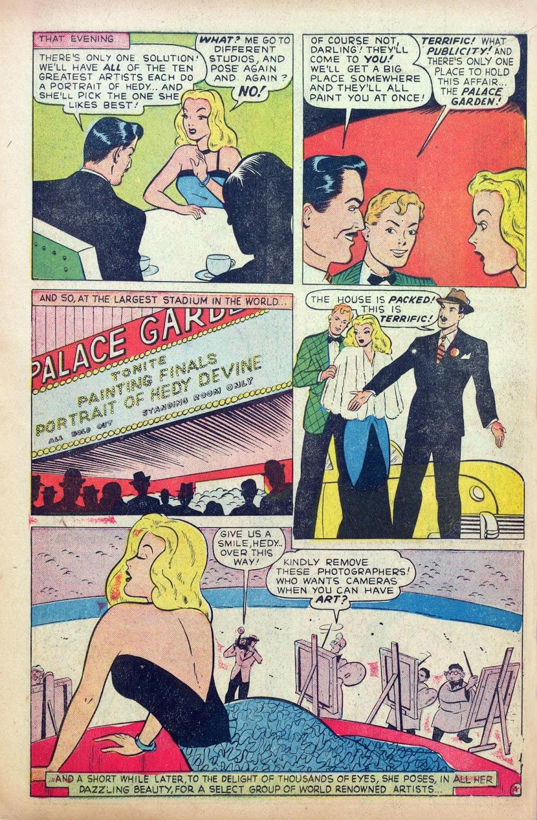 Hedy De Vine Comics issue 31 - Page 15