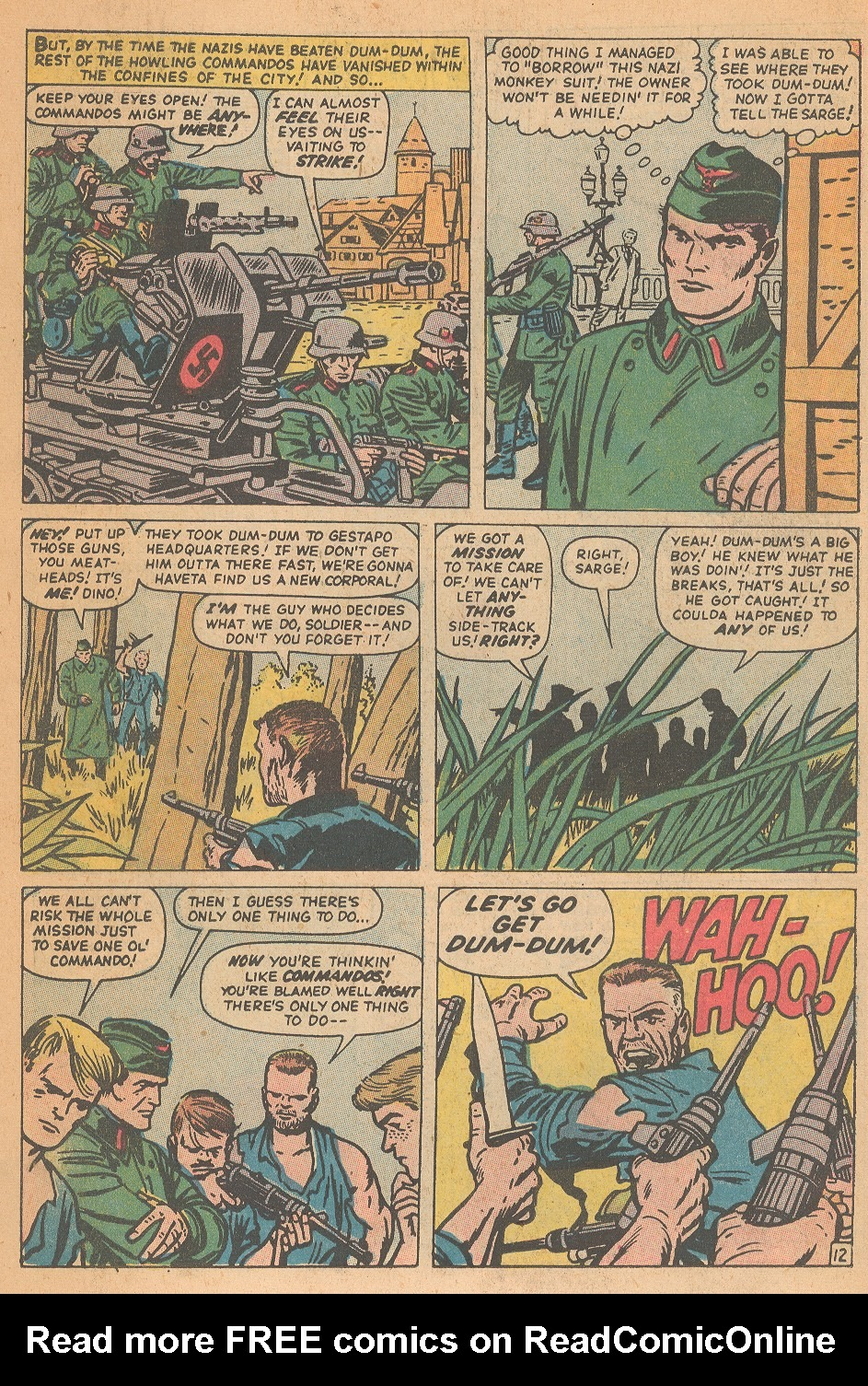 Read online Sgt. Fury comic -  Issue #95 - 18