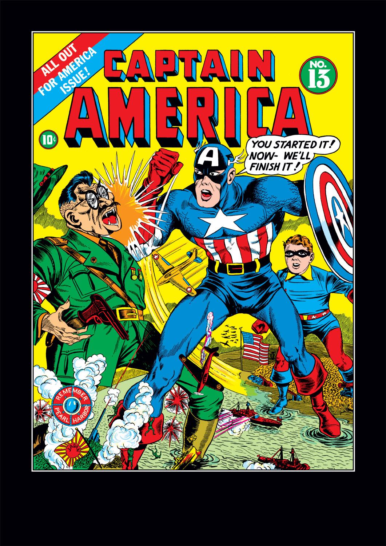 Captain America Comics 13 Page 1