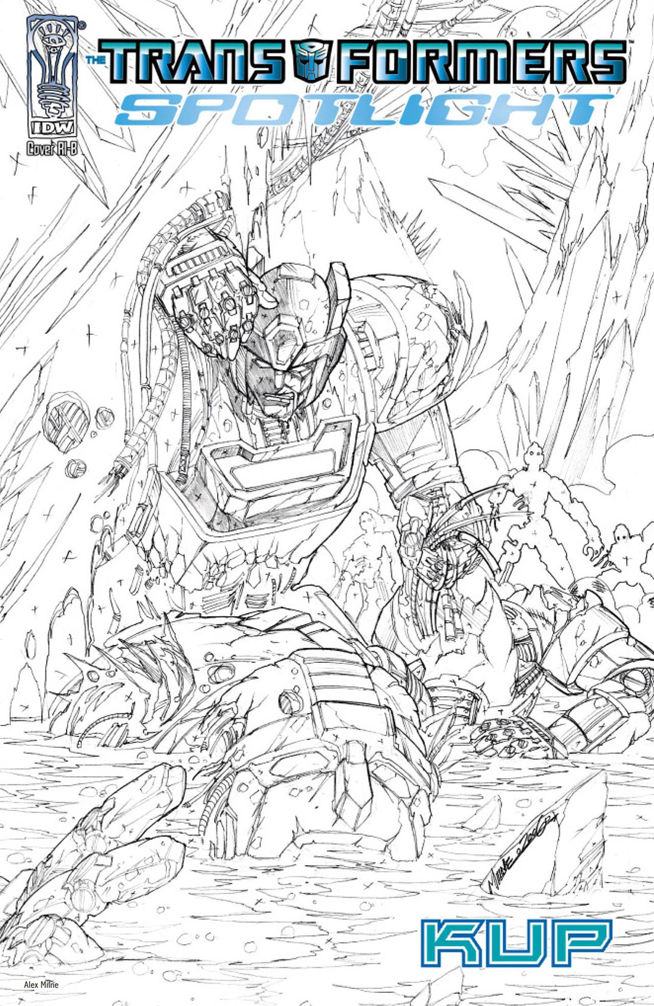 Read online Transformers Spotlight: Kup comic -  Issue # Full - 4