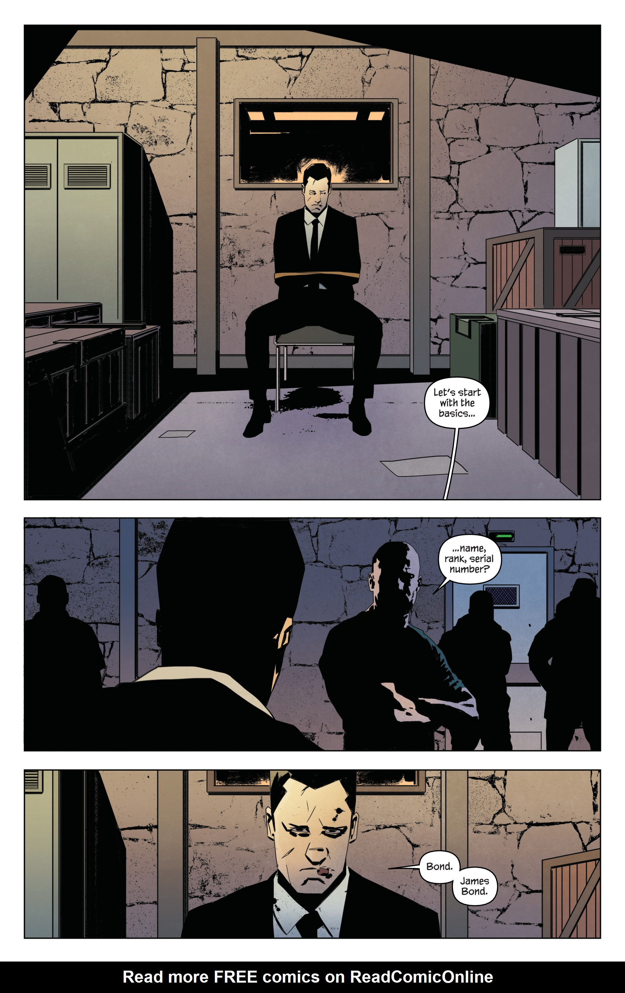 Read online James Bond: Service comic -  Issue # Full - 23