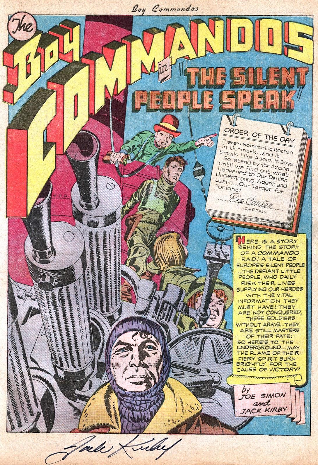 Boy Commandos issue 2 - Page 3