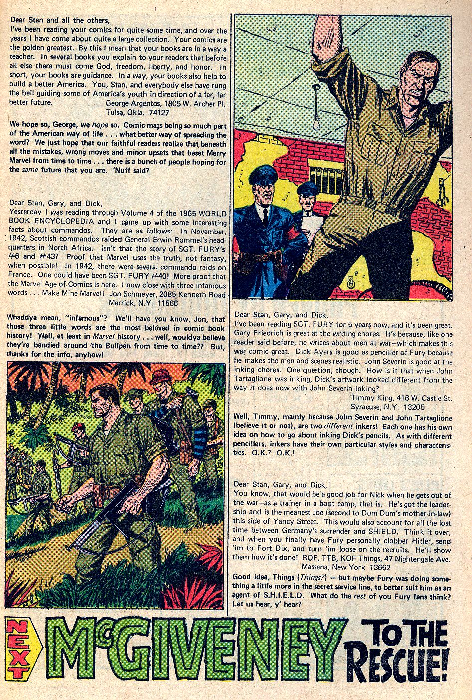 Read online Sgt. Fury comic -  Issue #66 - 33