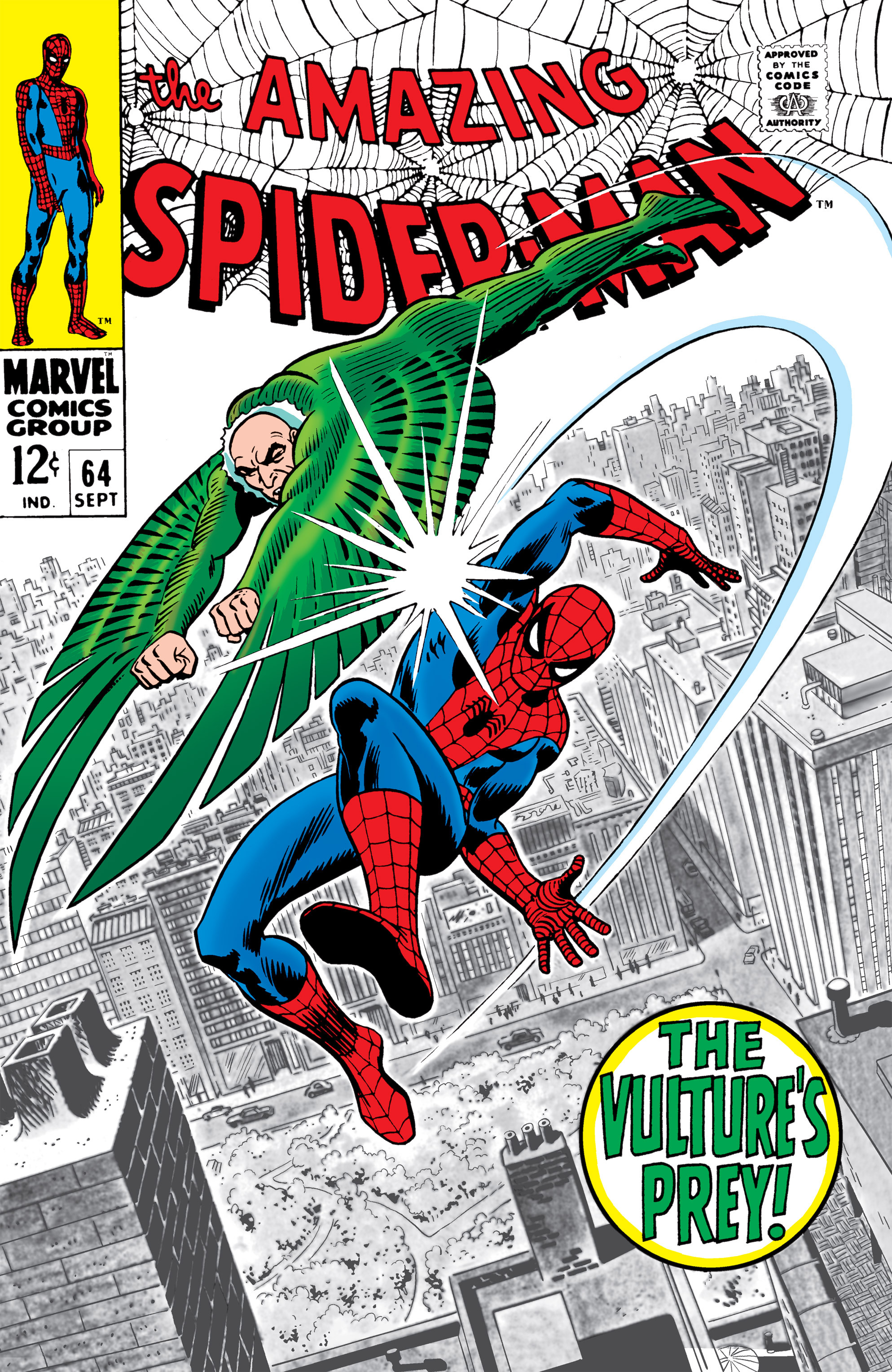 The Amazing Spider-Man (1963) 64 Page 0