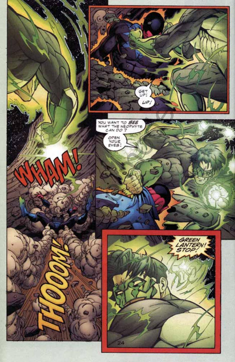 Read online Green Lantern: Our Worlds At War comic -  Issue # Full - 23