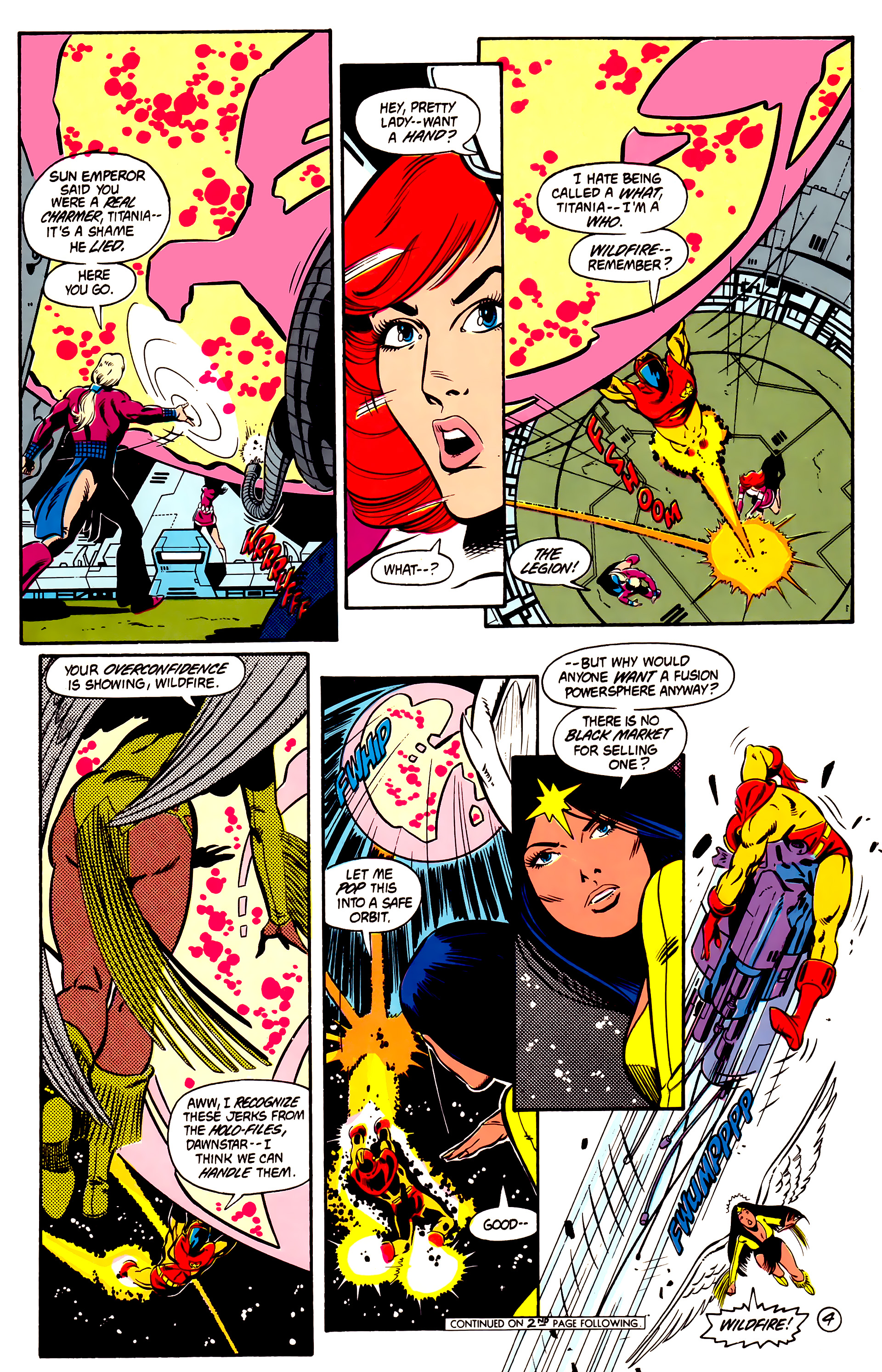 Legion of Super-Heroes (1984) 2 Page 5