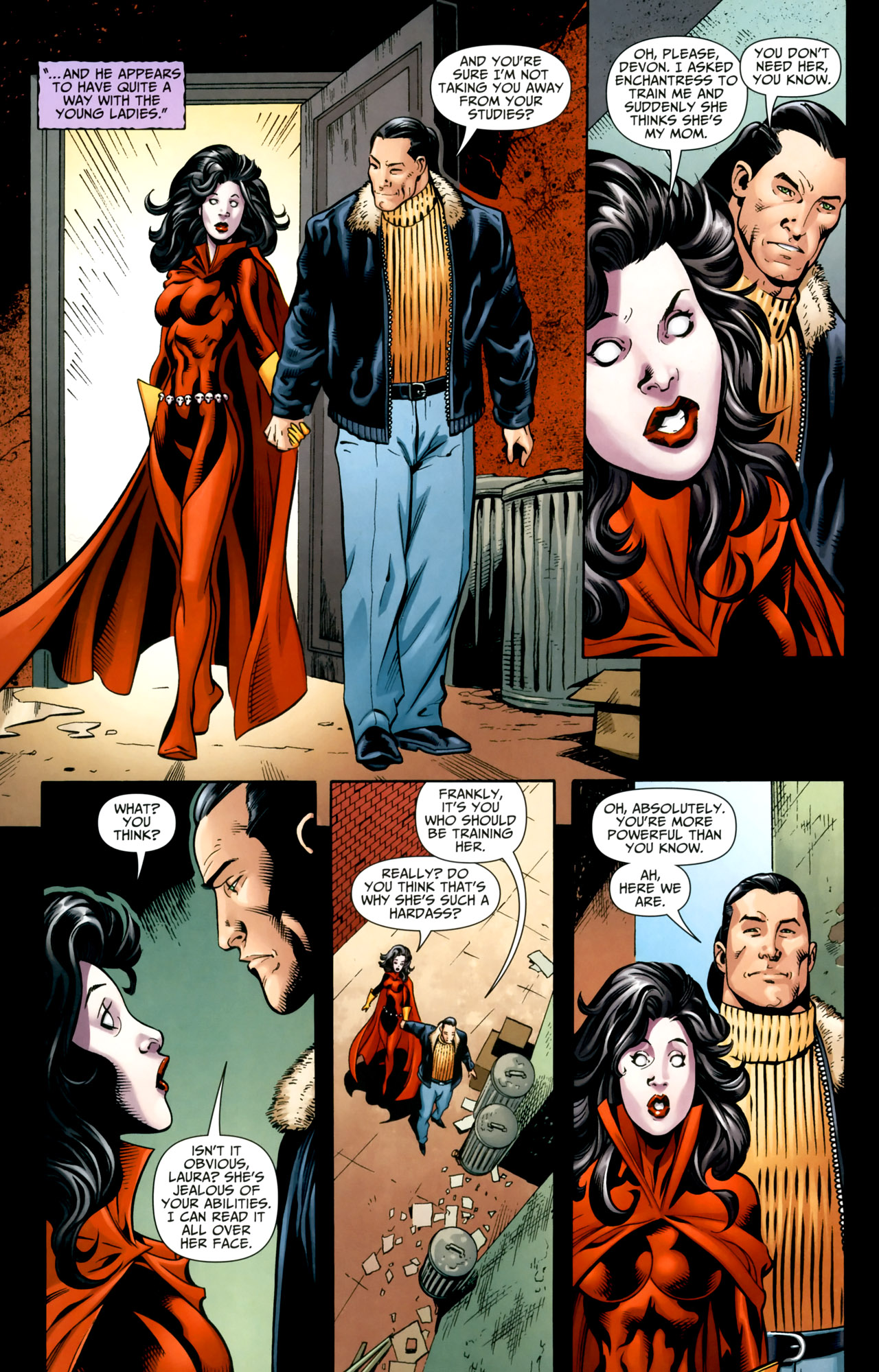 Read online Shadowpact comic -  Issue #18 - 16
