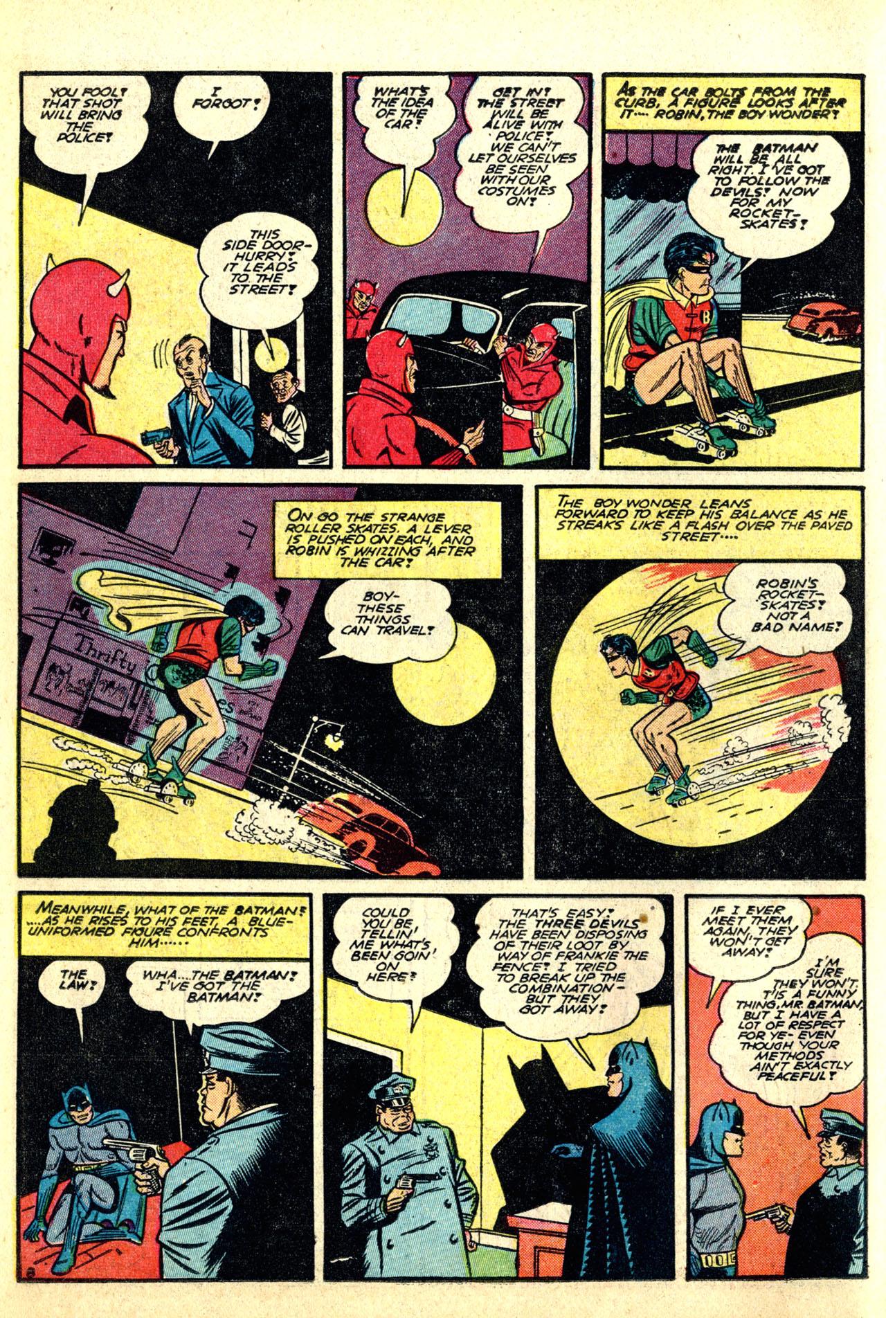 Read online Detective Comics (1937) comic -  Issue #50 - 10