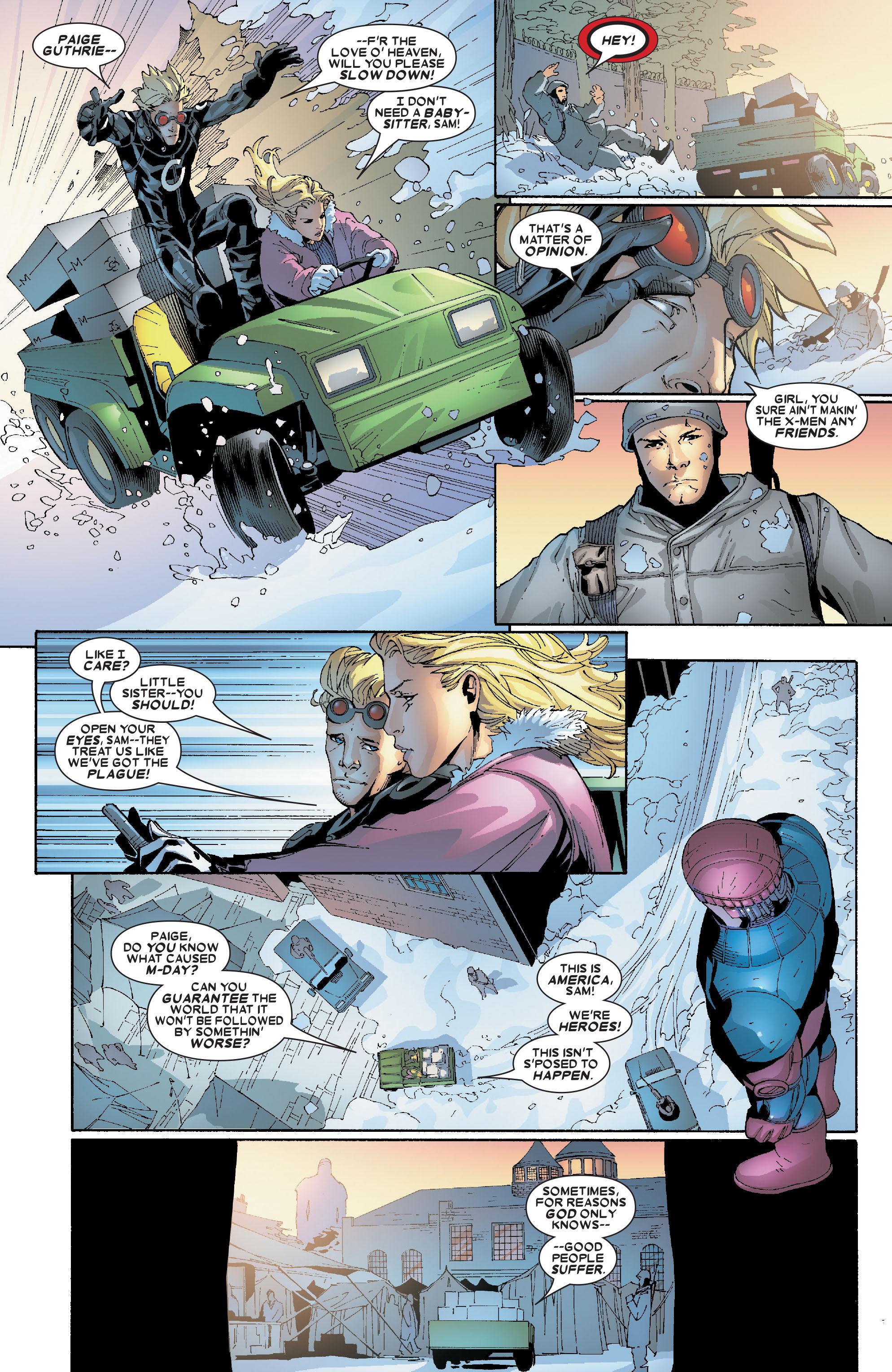 Read online Uncanny X-Men (1963) comic -  Issue #469 - 19