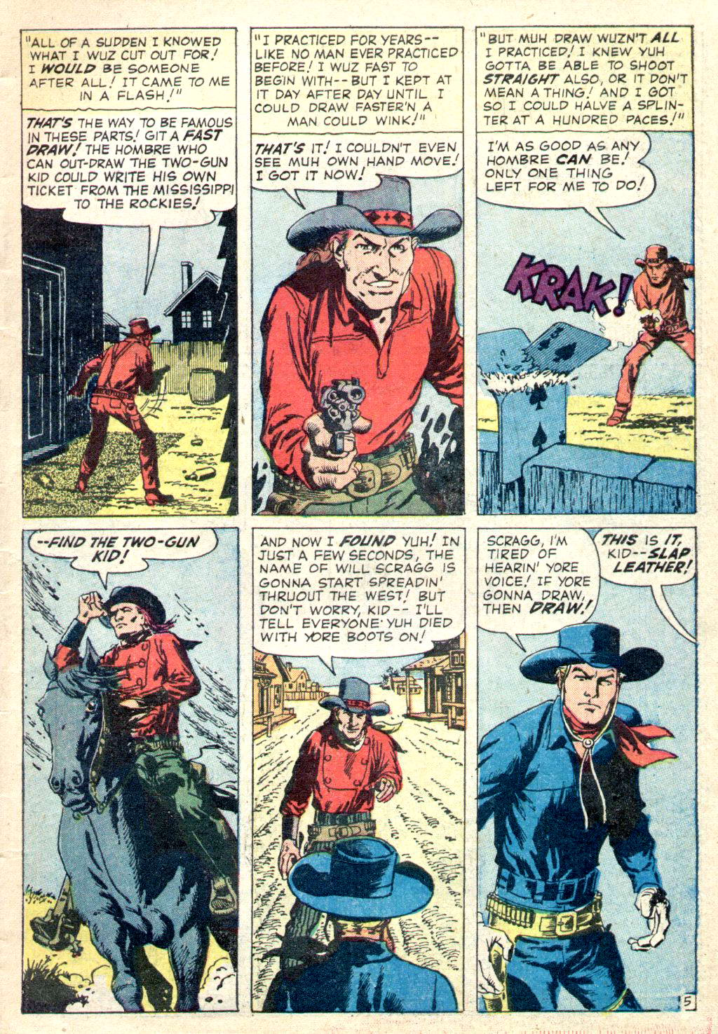 Read online Two-Gun Kid comic -  Issue #49 - 7