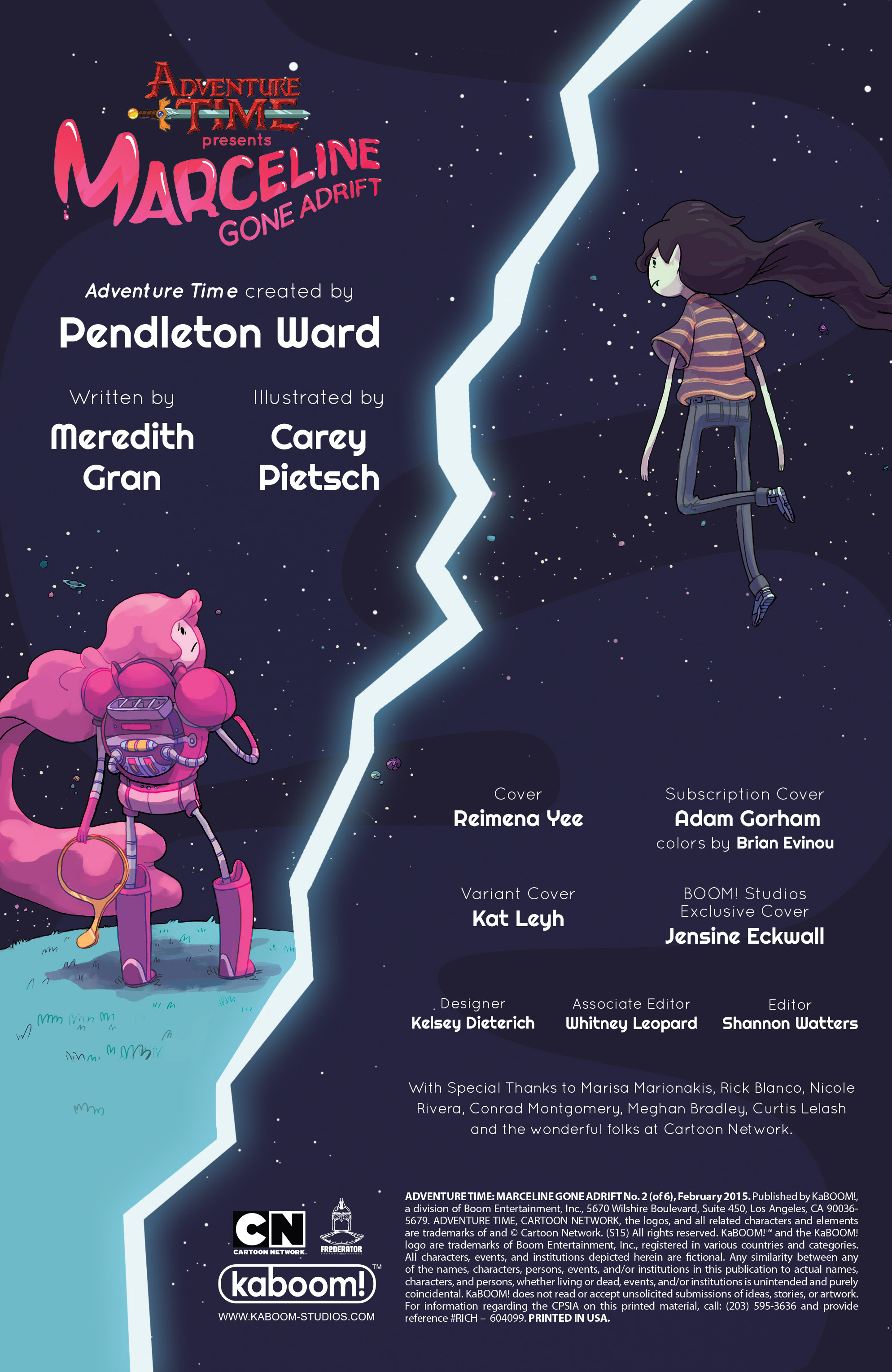Read online Adventure Time: Marceline Gone Adrift comic -  Issue #2 - 2