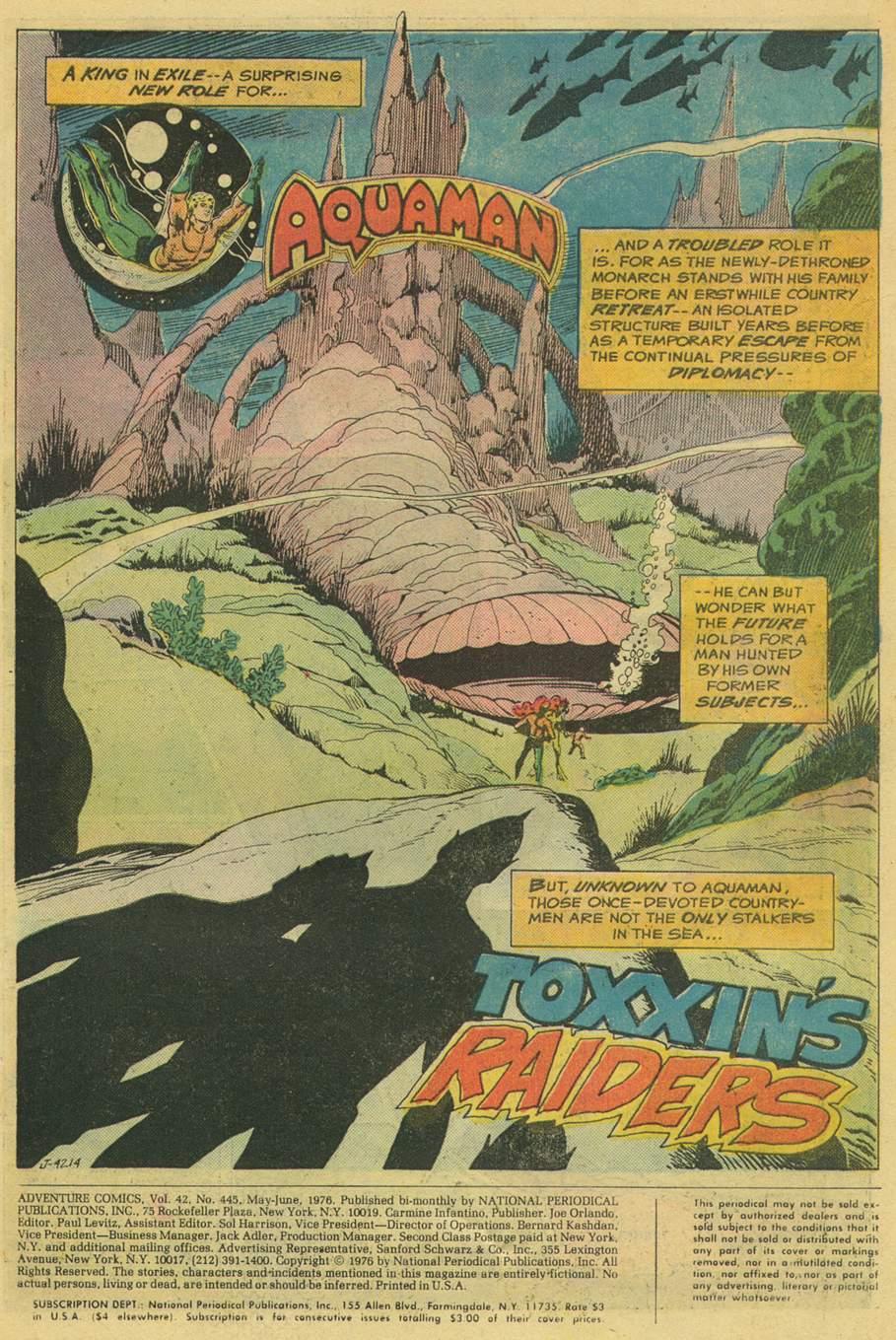 Read online Adventure Comics (1938) comic -  Issue #445 - 3