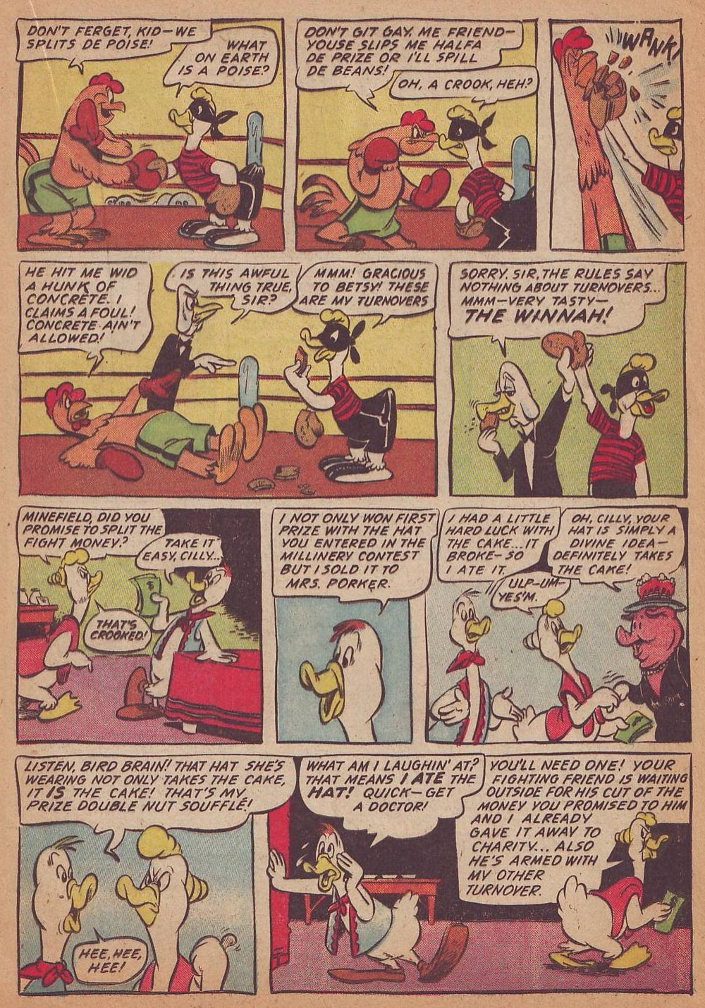 Read online Animal Comics comic -  Issue #16 - 17