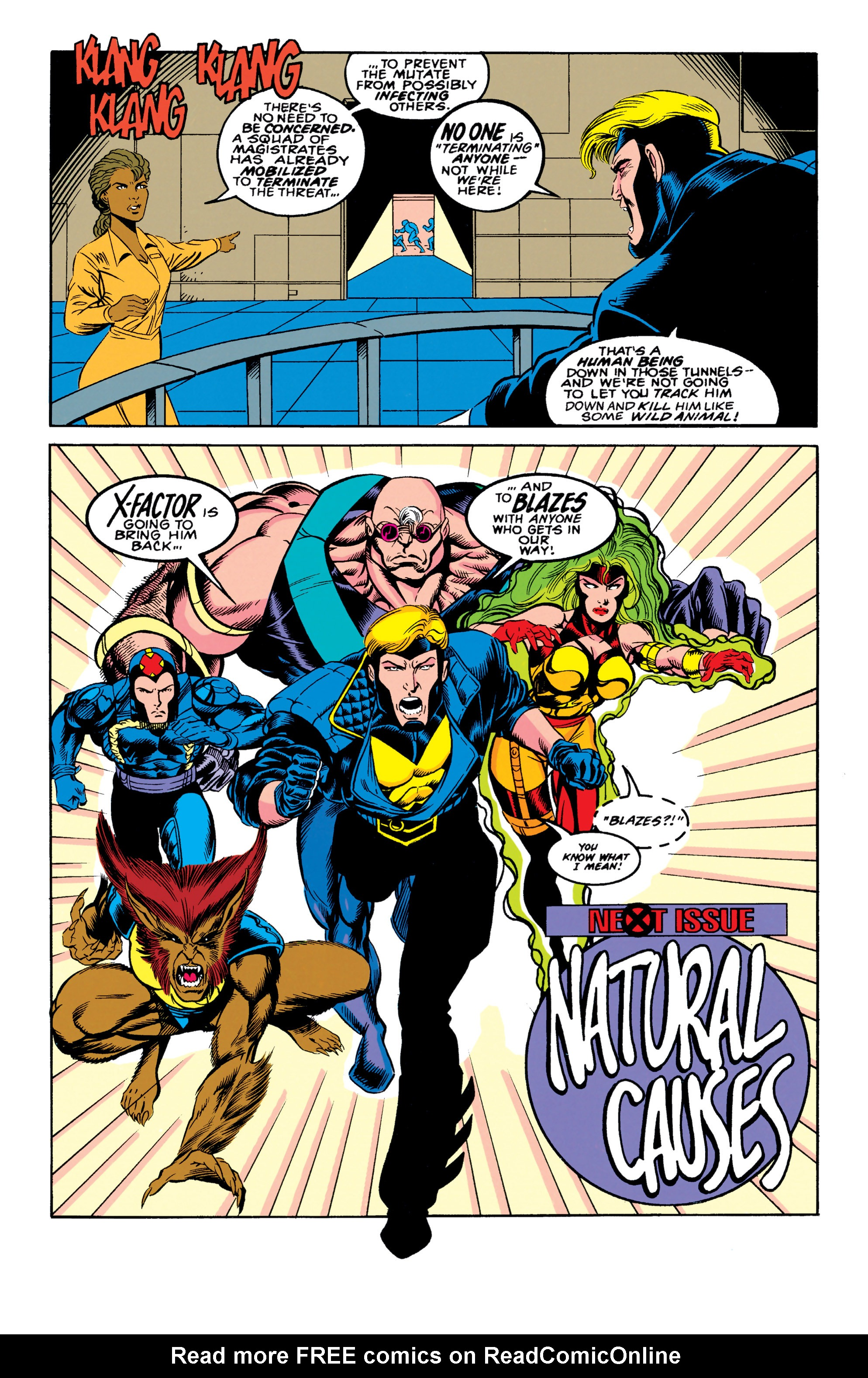 Read online X-Factor (1986) comic -  Issue #90 - 22