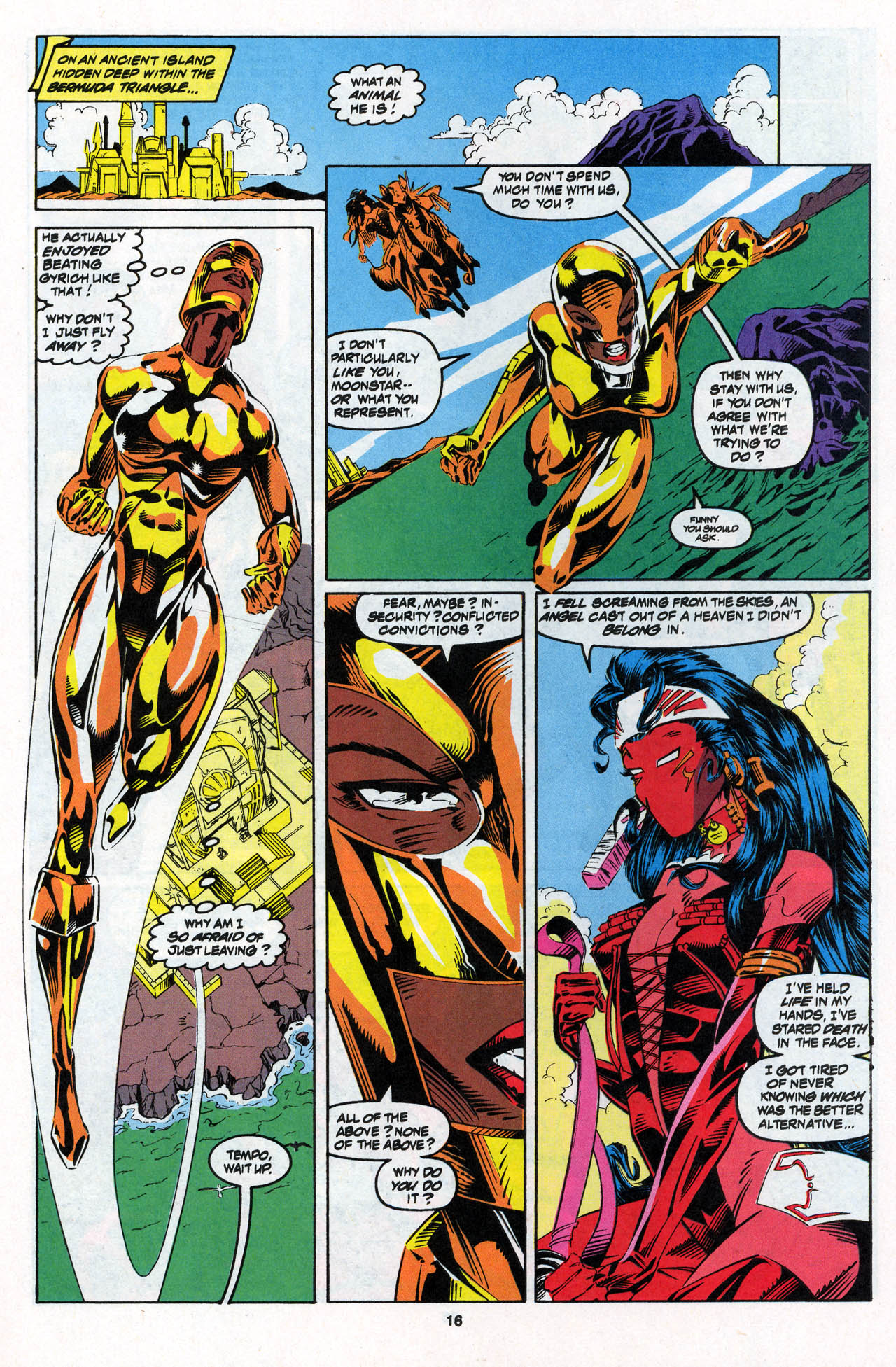 Read online X-Force (1991) comic -  Issue #27 - 17