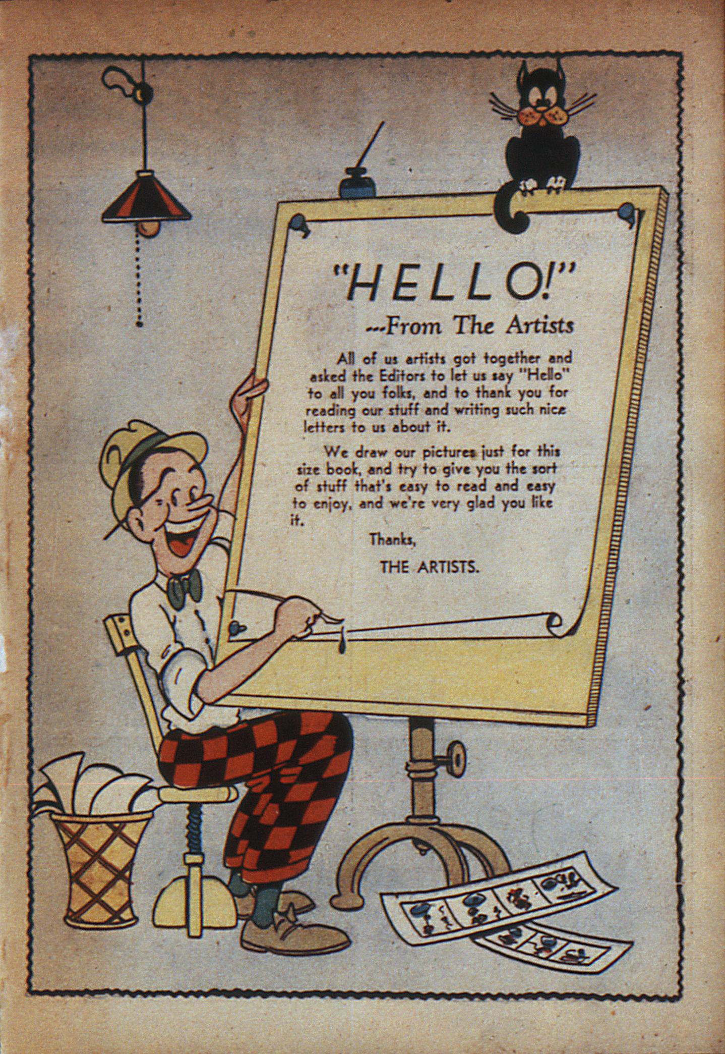 Read online Adventure Comics (1938) comic -  Issue #7 - 4