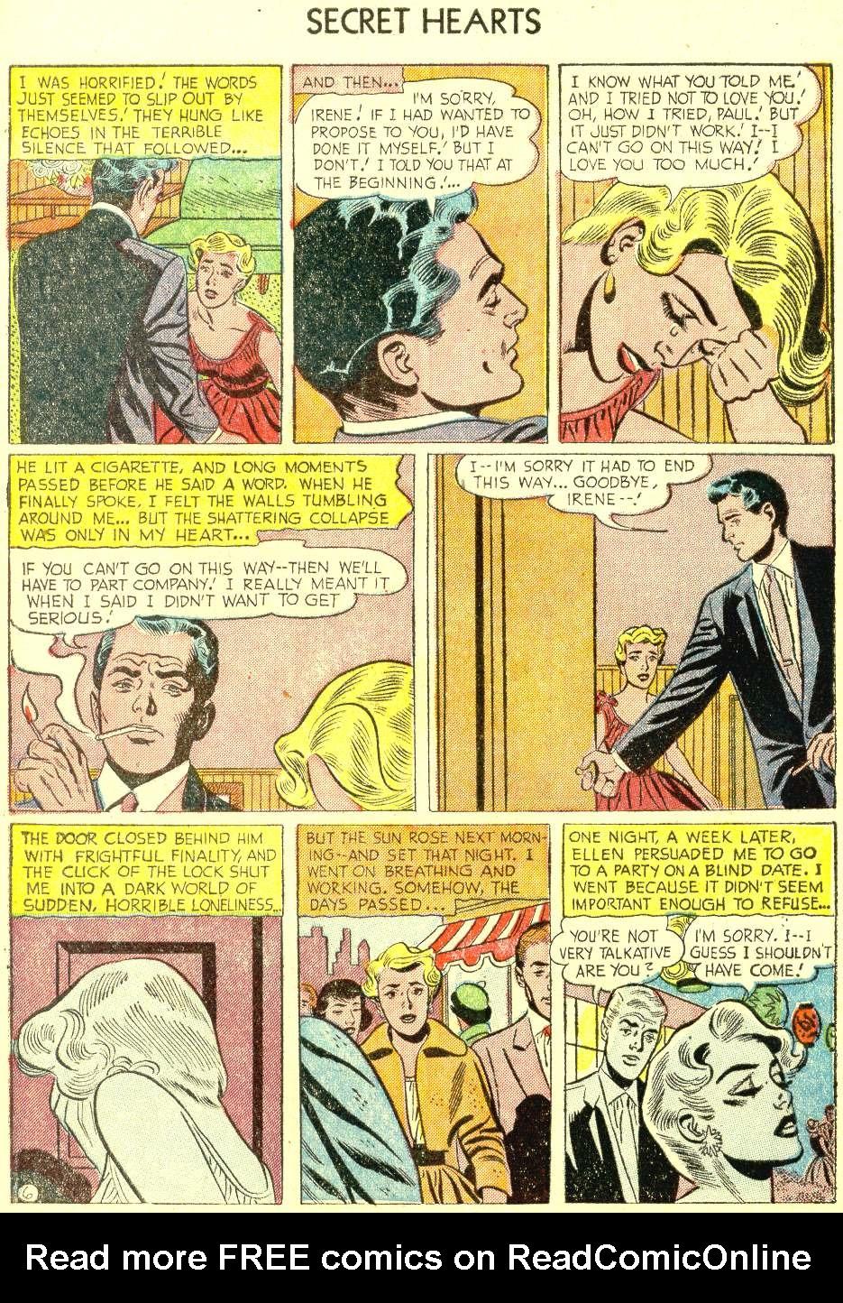 Read online Secret Hearts comic -  Issue #21 - 8