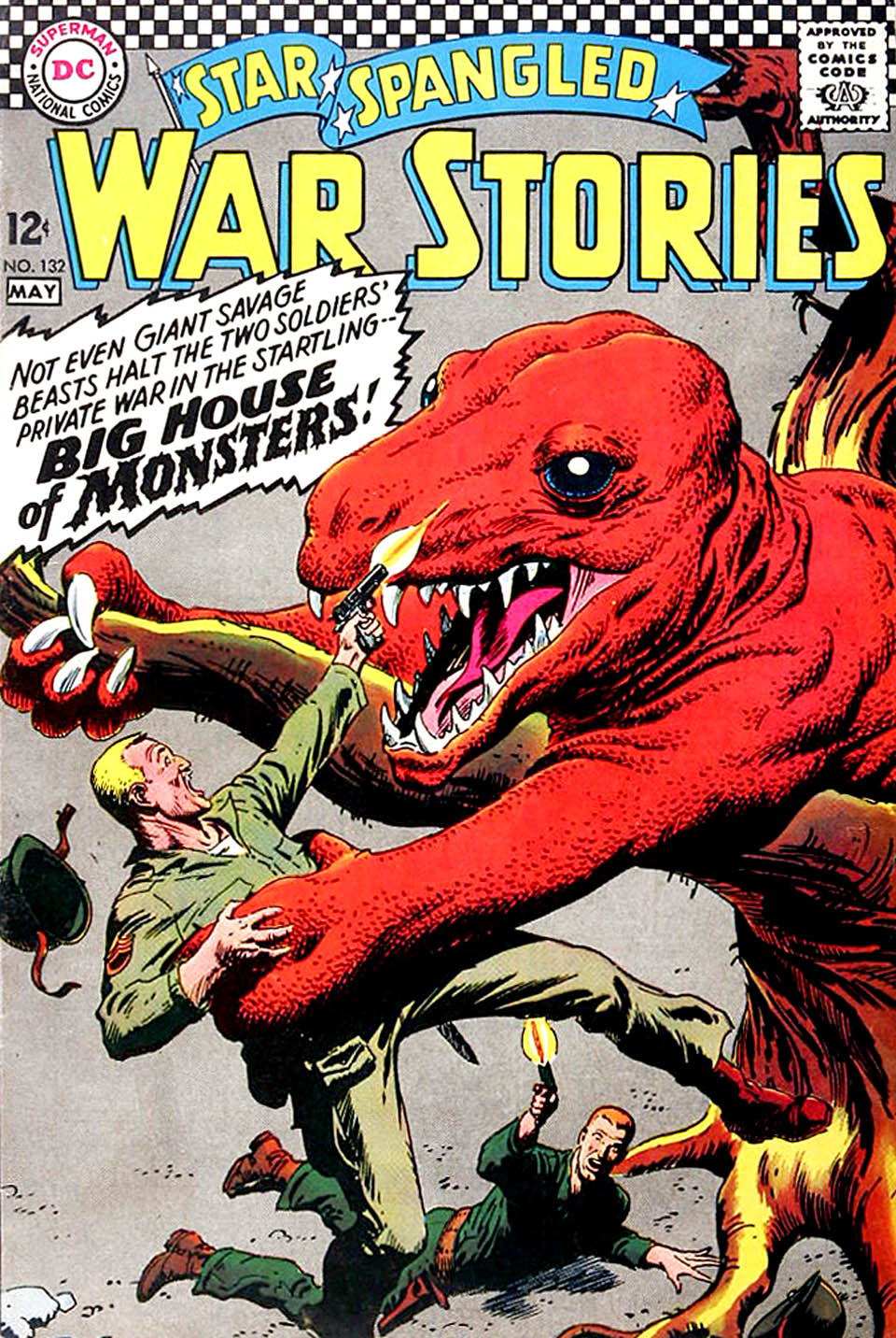 Star Spangled War Stories (1952) issue 132 - Page 1