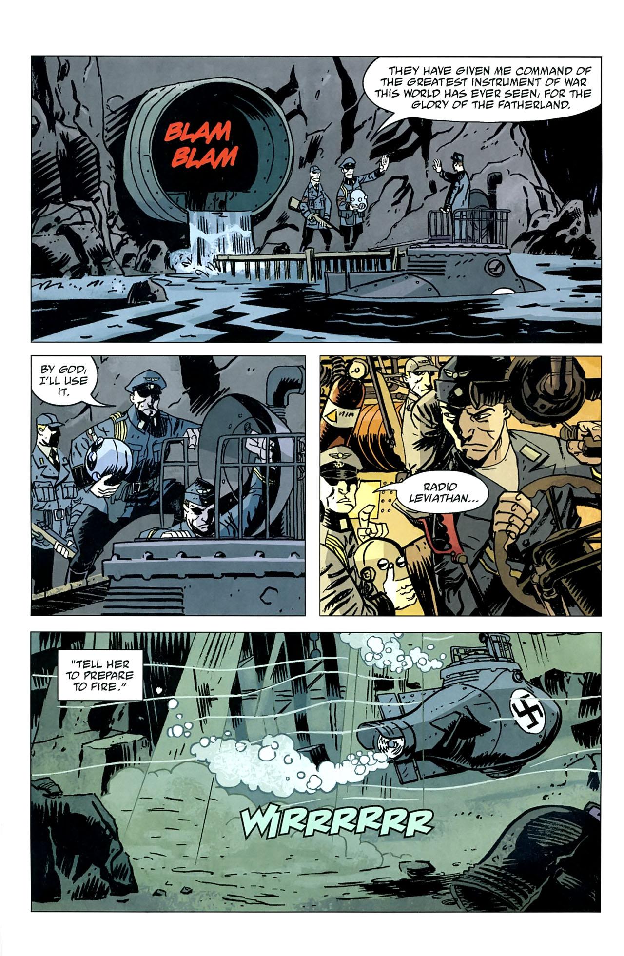 Read online Lobster Johnson: The Iron Prometheus comic -  Issue #5 - 12
