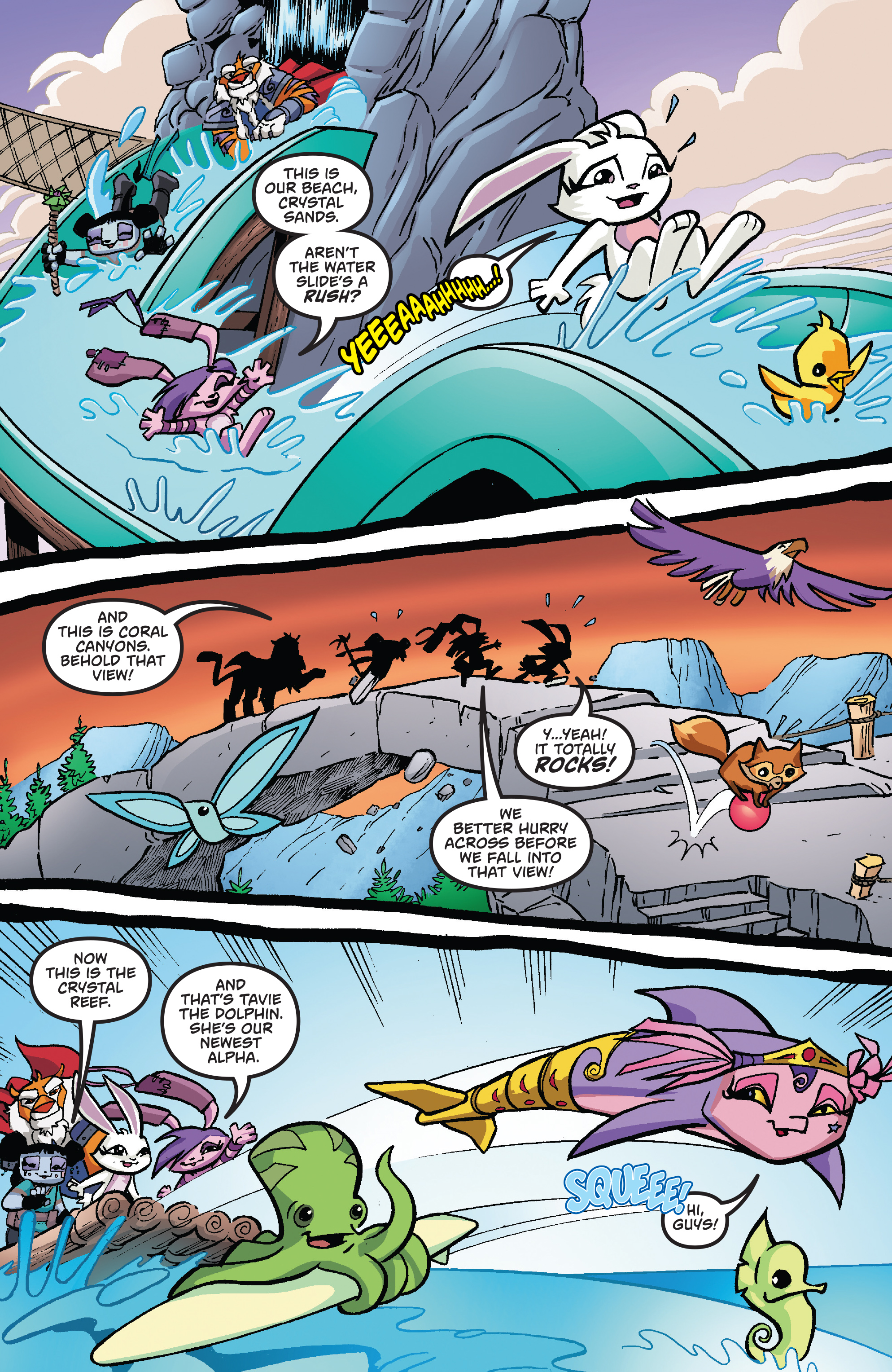 Read online Free Comic Book Day 2017 comic -  Issue # Animal Jam - 13