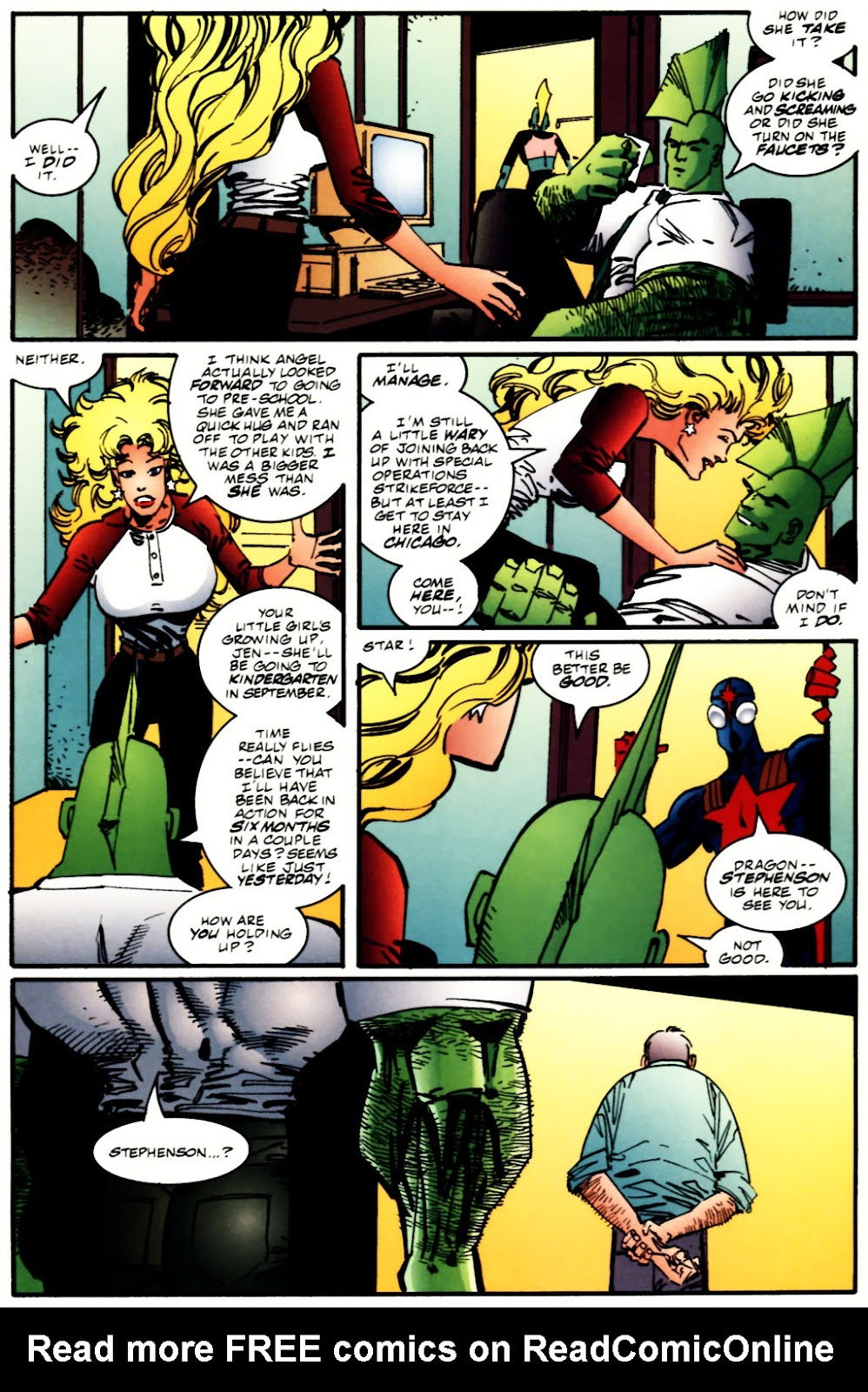 The Savage Dragon (1993) Issue #60 #63 - English 6