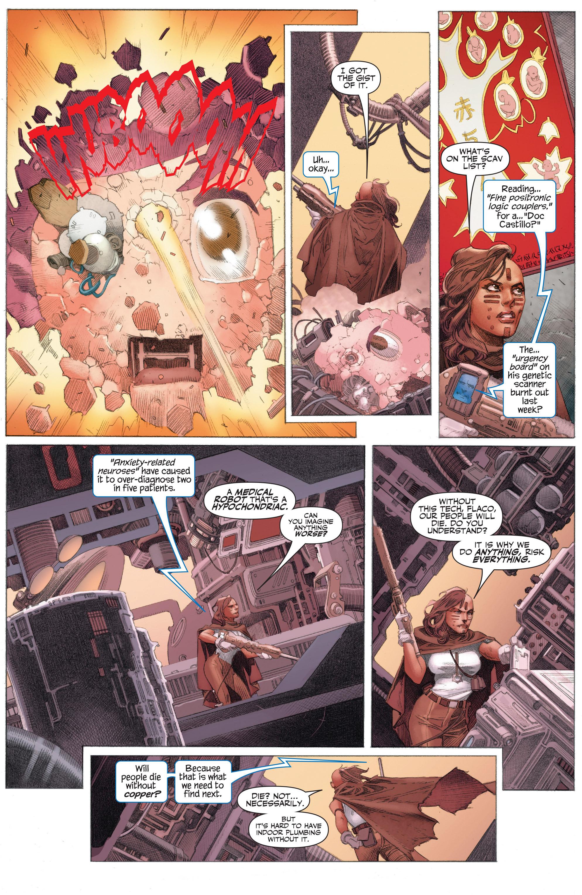Read online 4001 A.D.: War Mother comic -  Issue #4001 A.D.: War Mother Full - 14