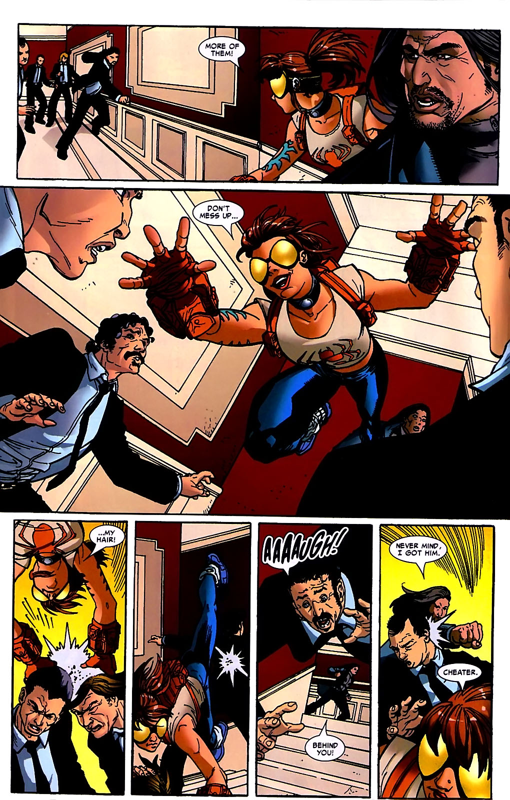 Read online Araña: Heart of the Spider comic -  Issue #10 - 21