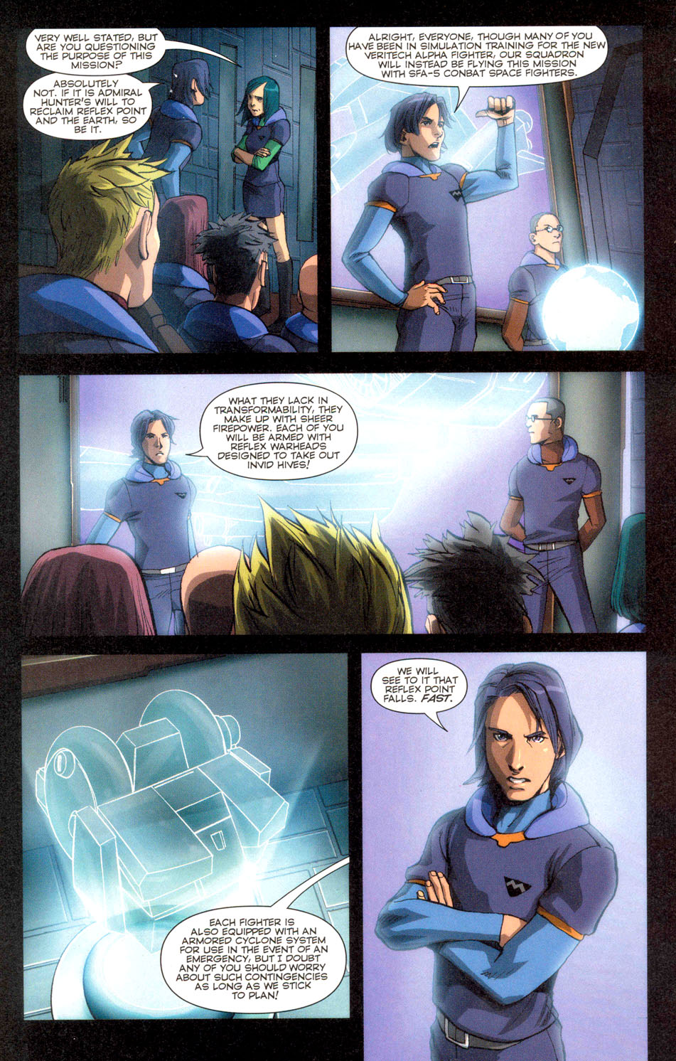 Read online Robotech: Invasion comic -  Issue #2 - 4