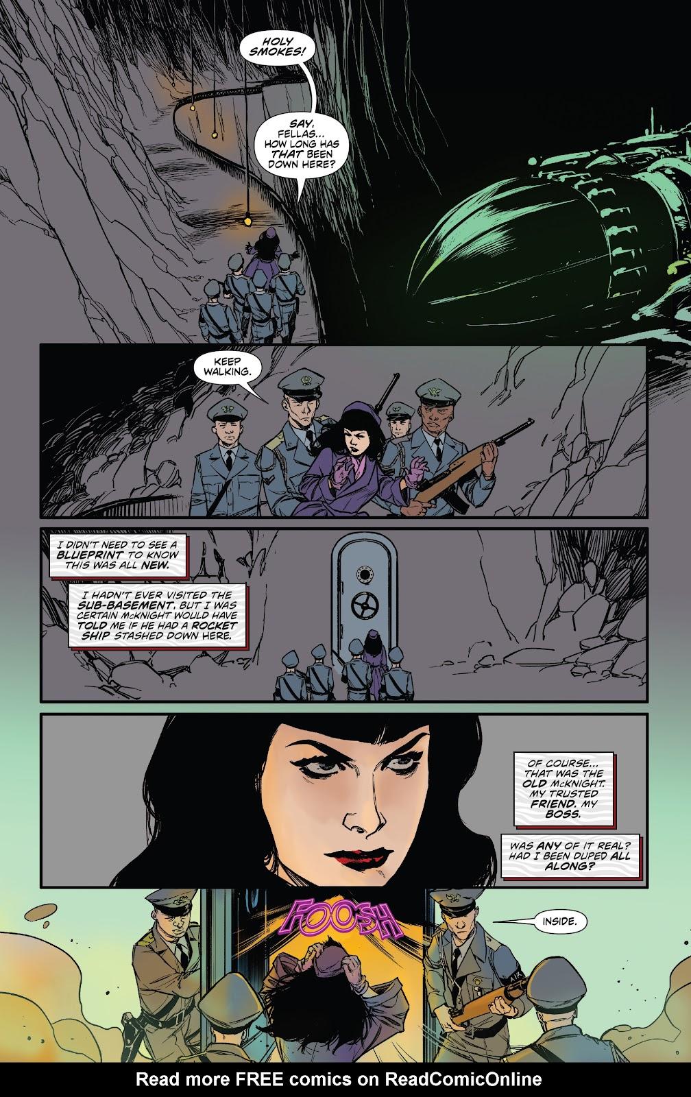 Read online Bettie Page: Unbound comic -  Issue #6 - 25