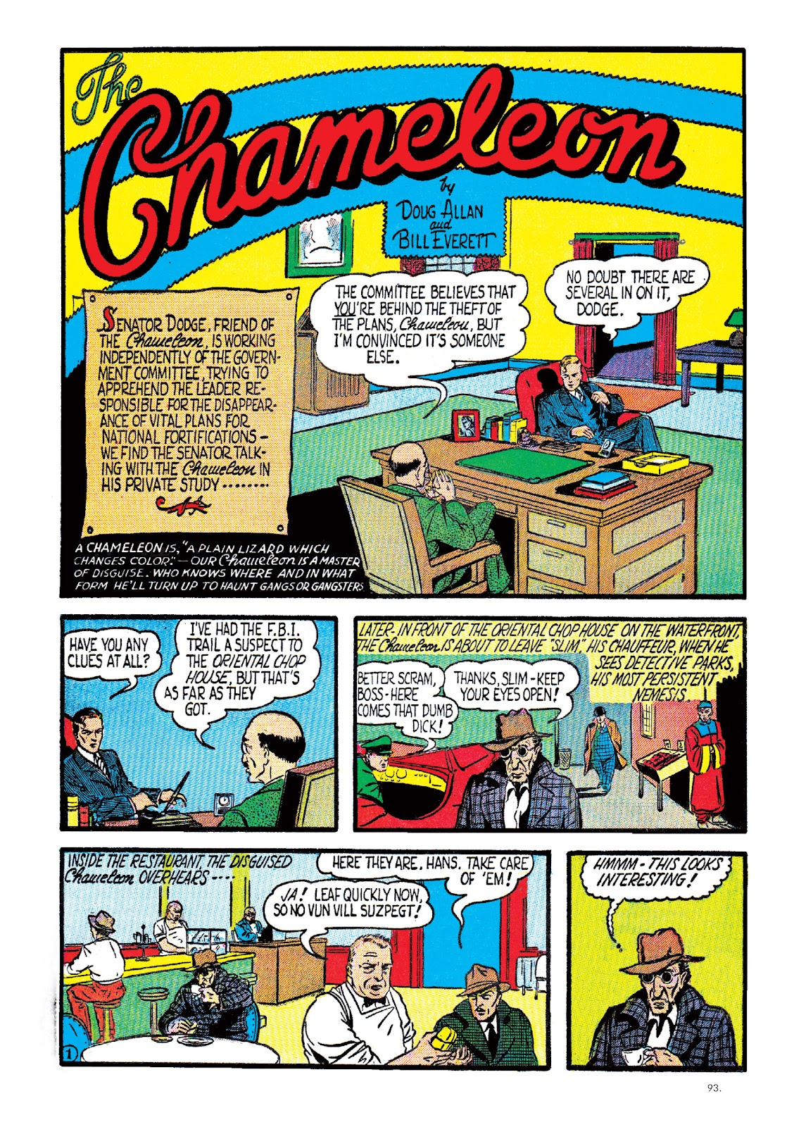 Read online The Bill Everett Archives comic -  Issue # TPB 2 (Part 1) - 94