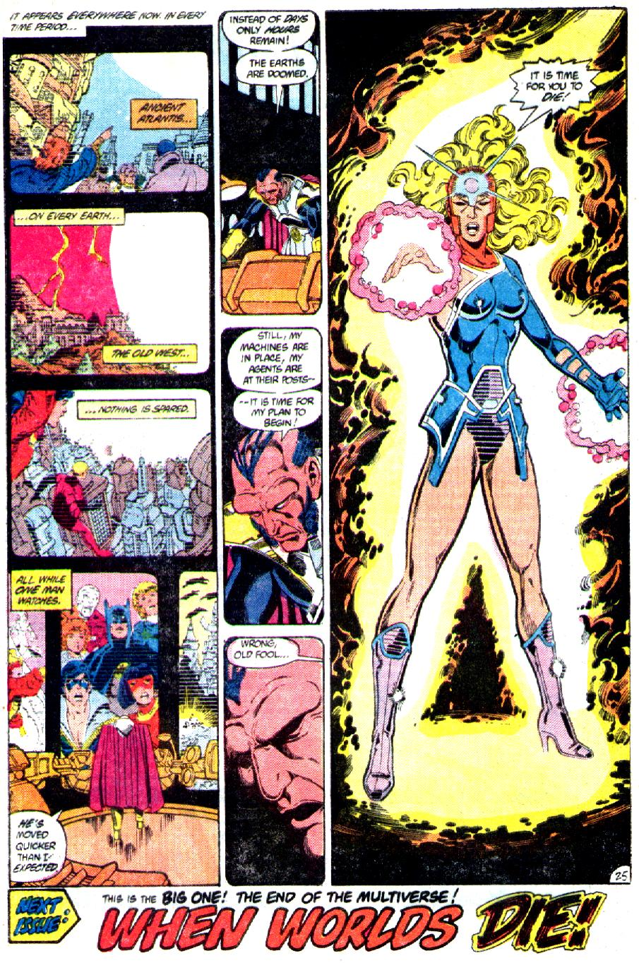 Read online Crisis on Infinite Earths (1985) comic -  Issue #3 - 27