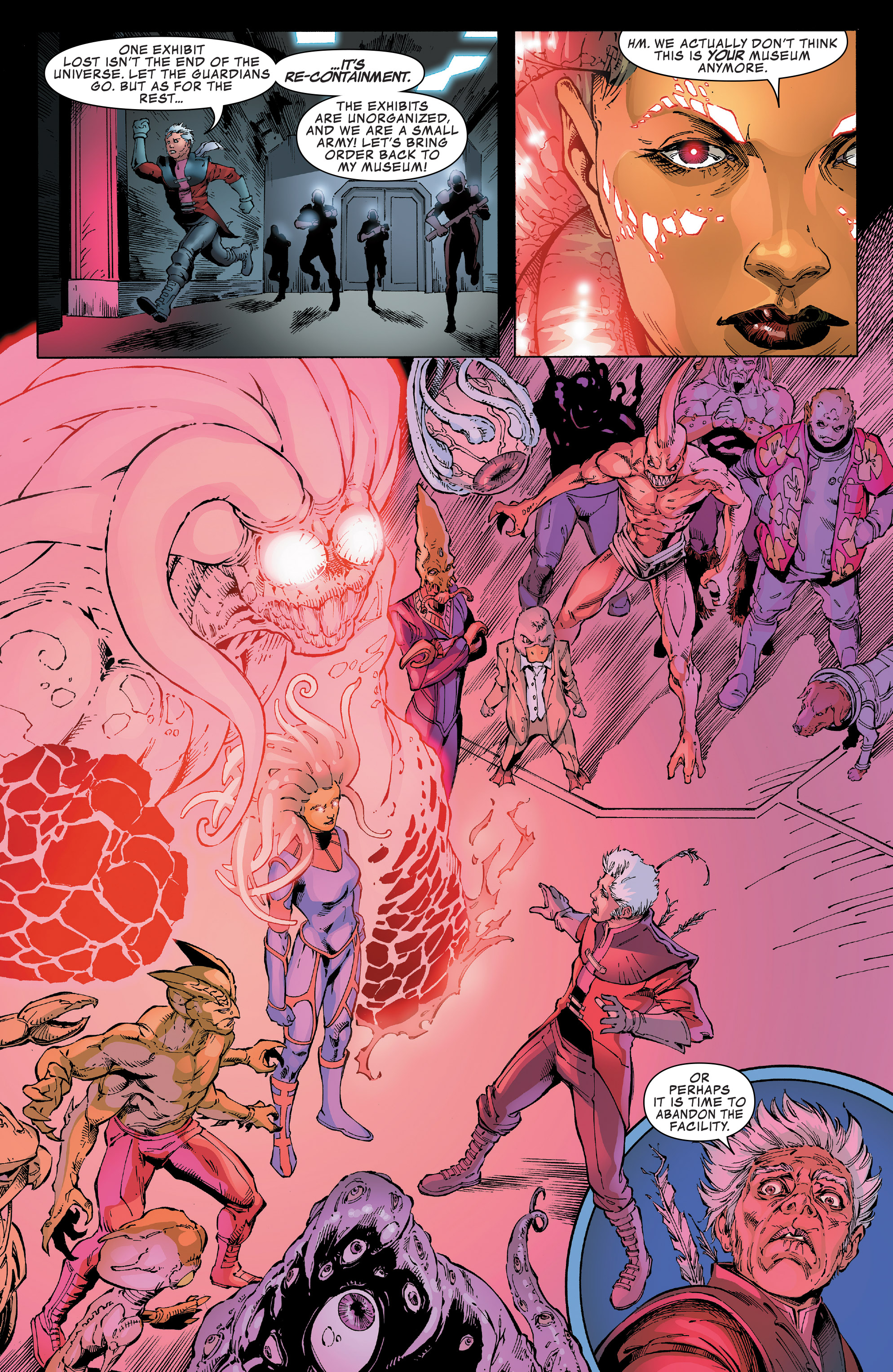 Read online Guardians of the Galaxy: Mission Breakout comic -  Issue # Full - 30