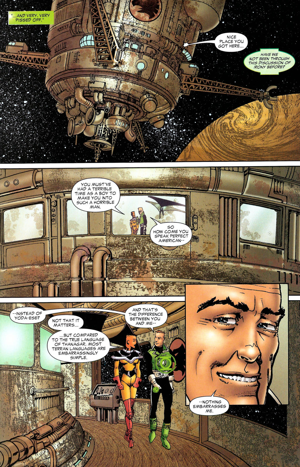 Read online Guy Gardner: Collateral Damage comic -  Issue #2 - 14