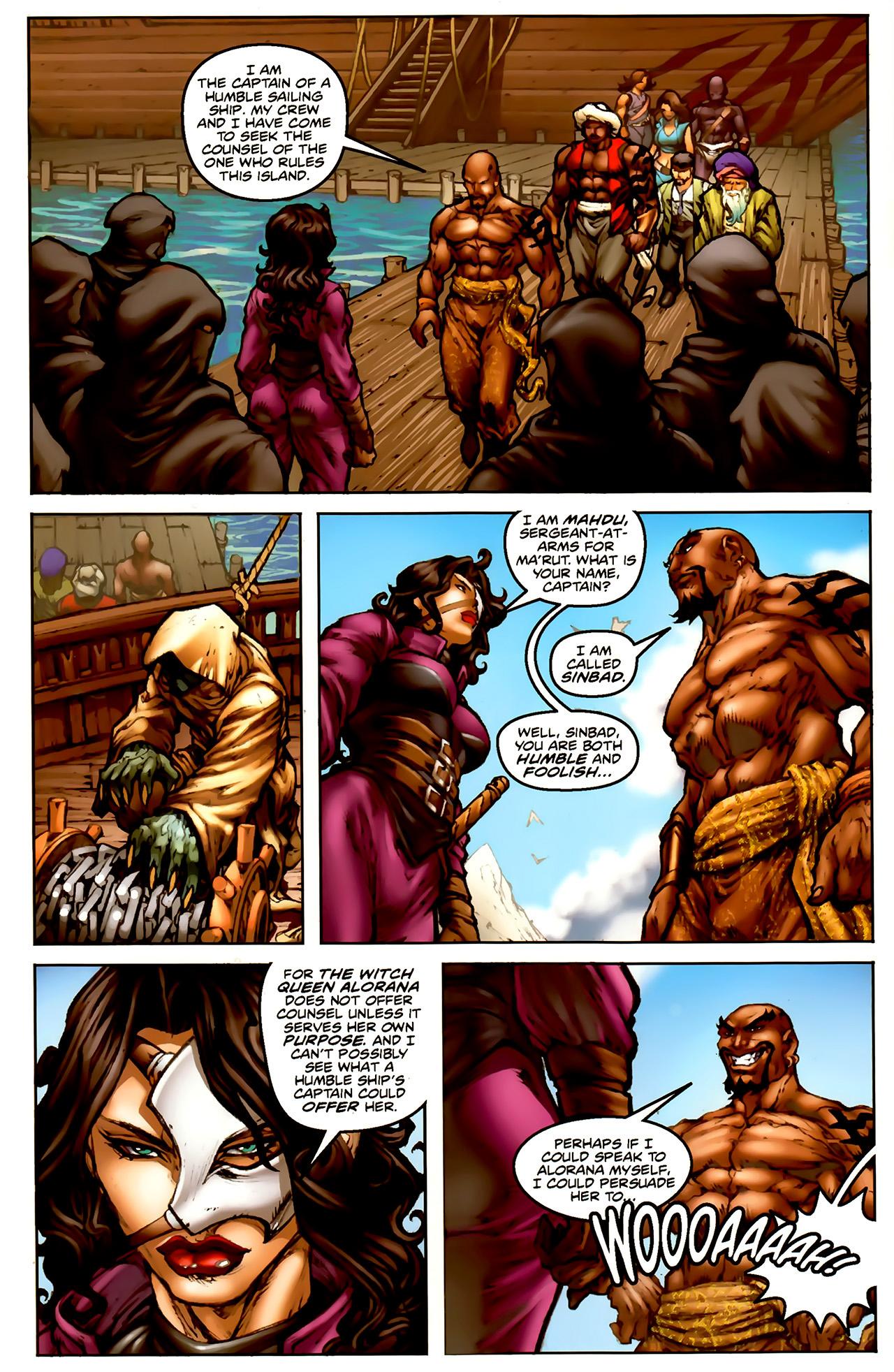 Read online 1001 Arabian Nights: The Adventures of Sinbad comic -  Issue #1 - 11