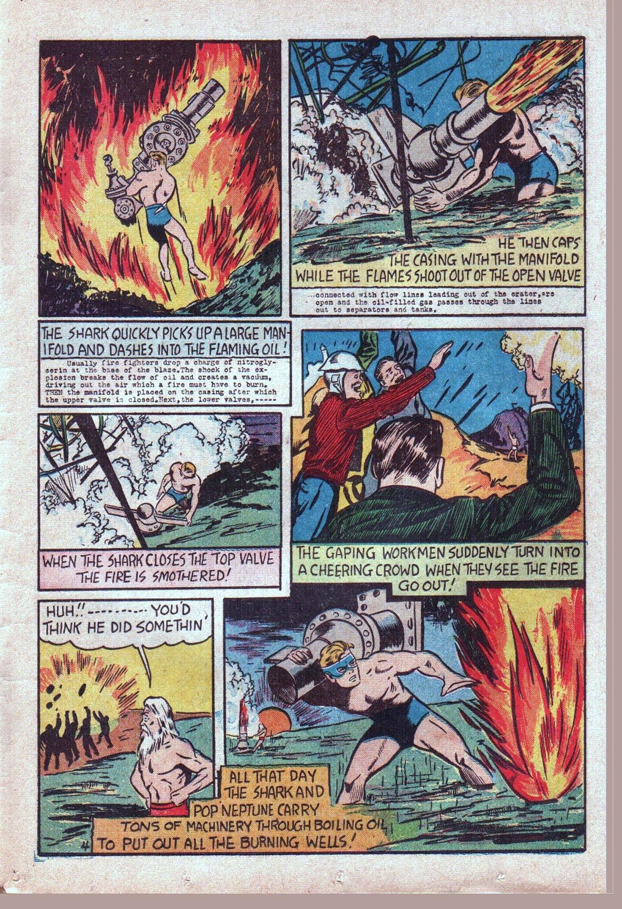 Read online Amazing Man Comics comic -  Issue #20 - 46