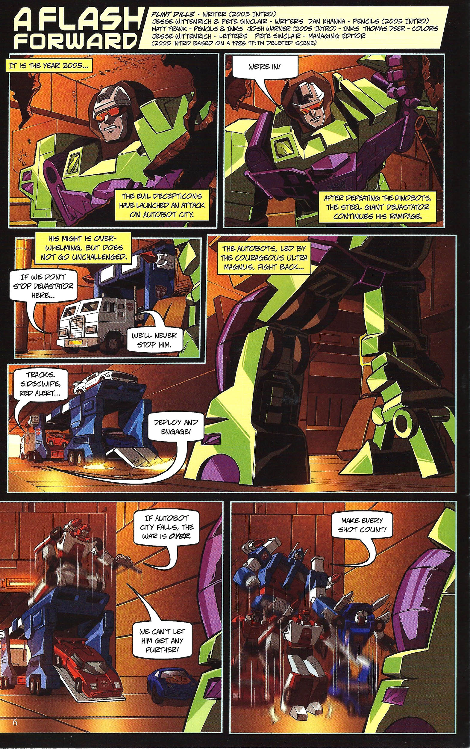 Read online Transformers: Collectors' Club comic -  Issue #43 - 6