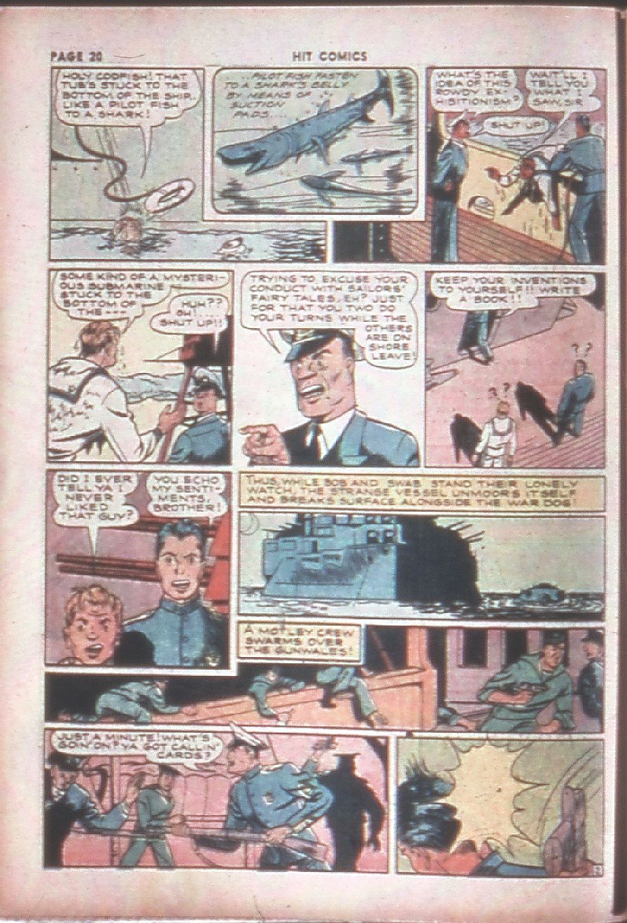 Read online Hit Comics comic -  Issue #8 - 22