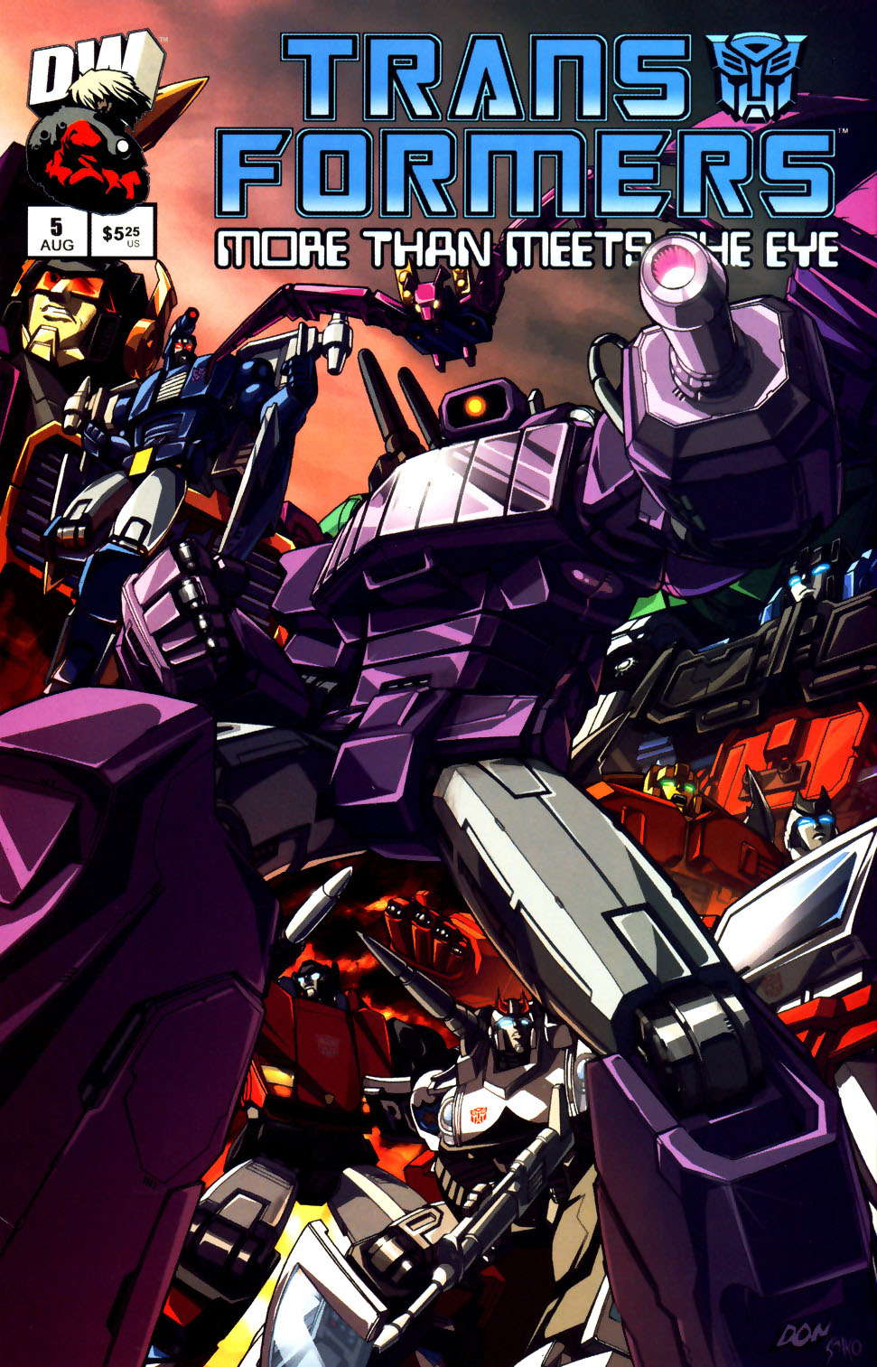 Read online Transformers: More than Meets the Eye comic -  Issue #5 - 1