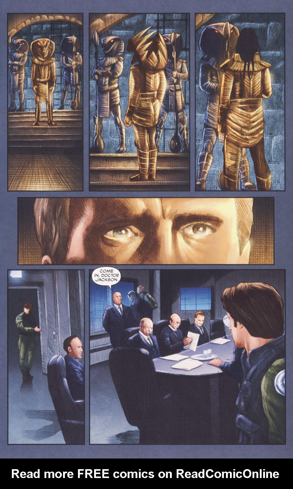Read online Stargate SG-1: POW comic -  Issue #2 - 9