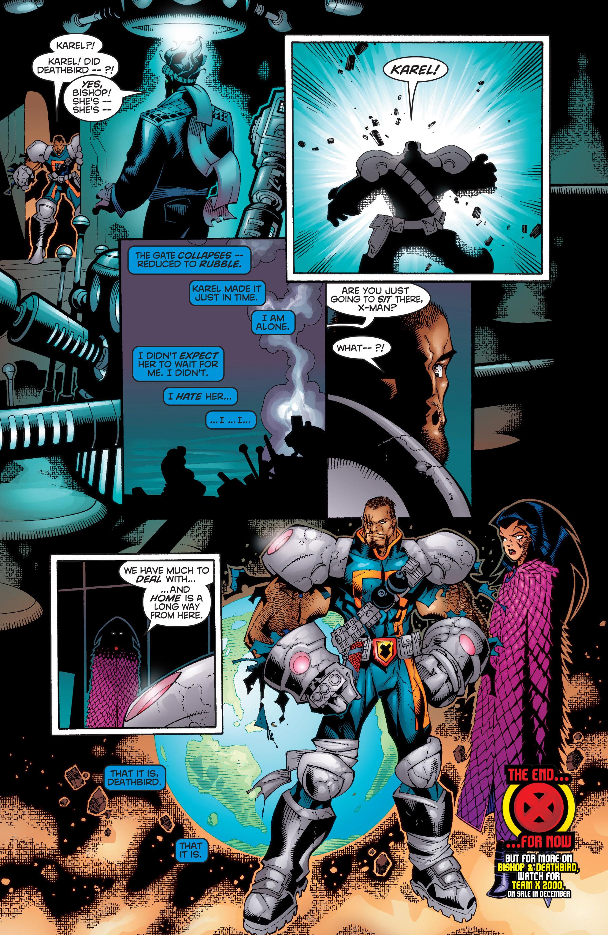 Read online Uncanny X-Men (1963) comic -  Issue #358 - 20