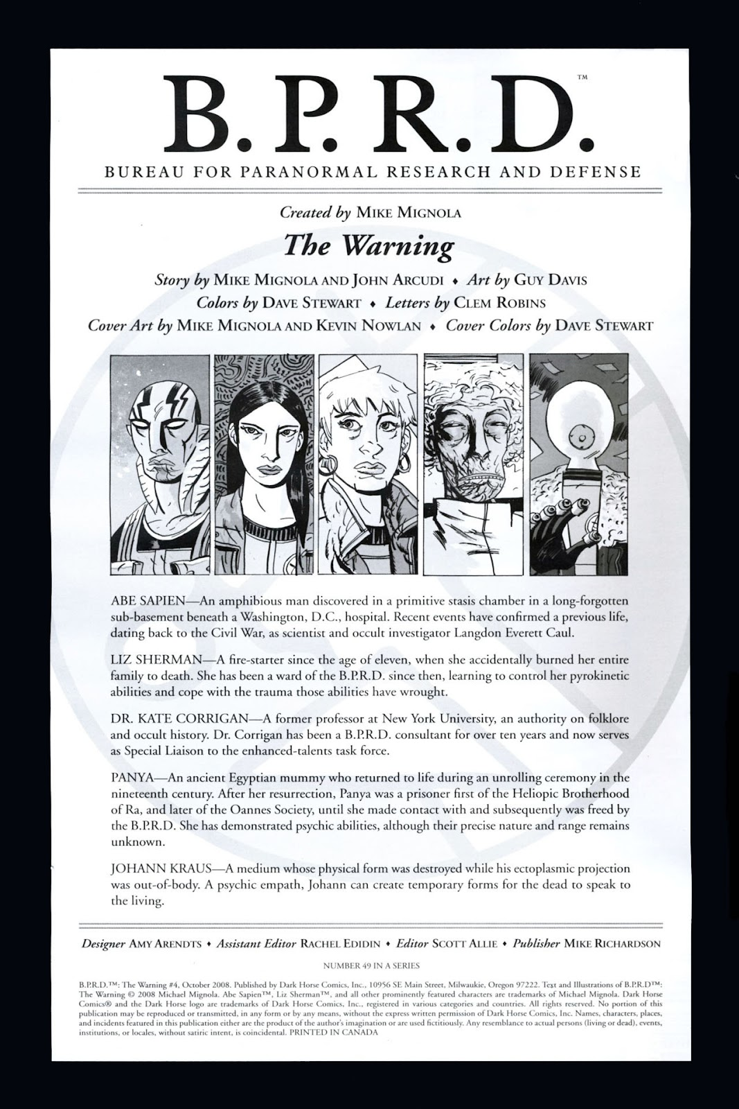 B.P.R.D.: The Warning issue 4 - Page 2