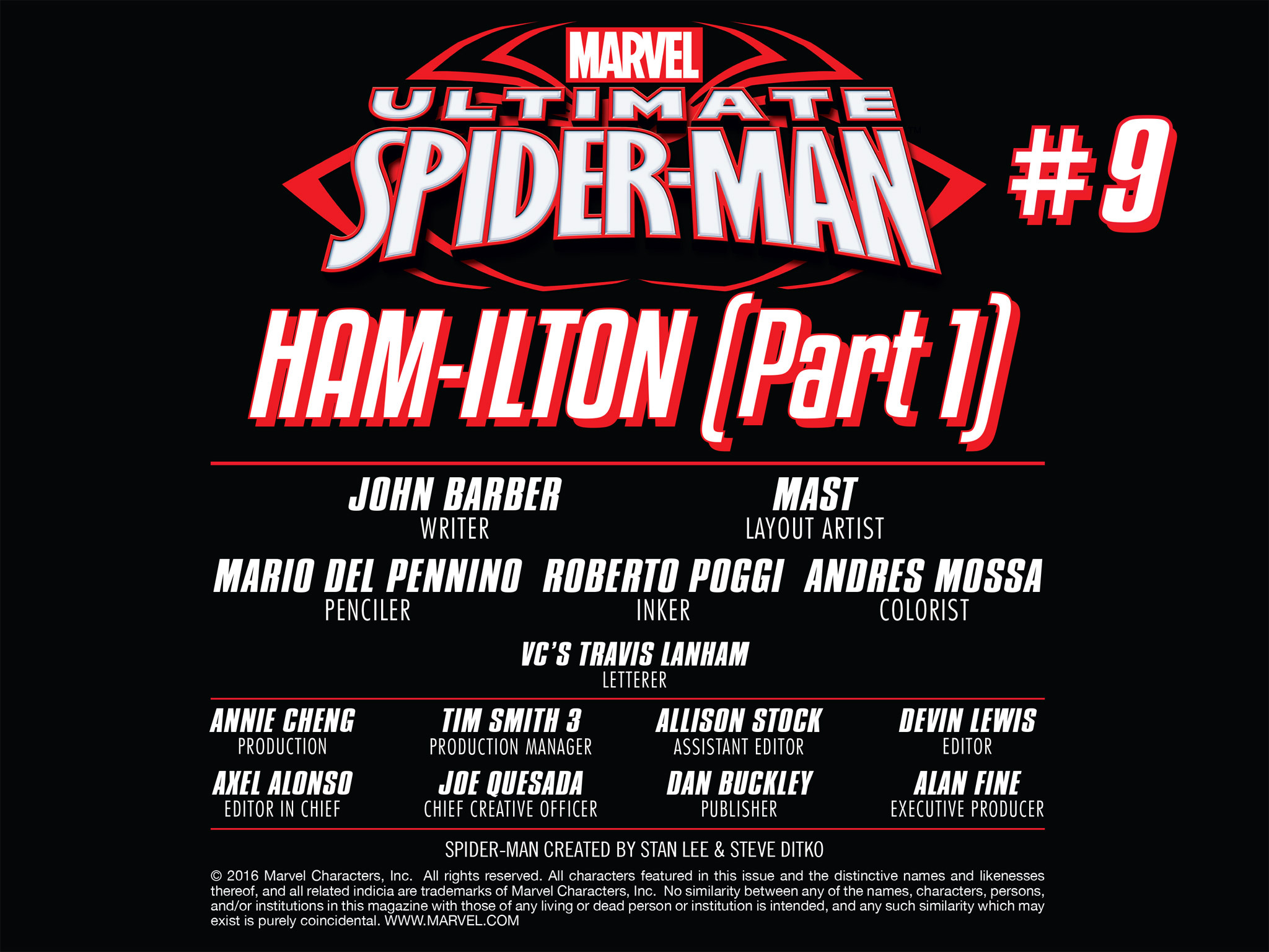 Read online Ultimate Spider-Man (Infinite Comics) (2016) comic -  Issue #9 - 14
