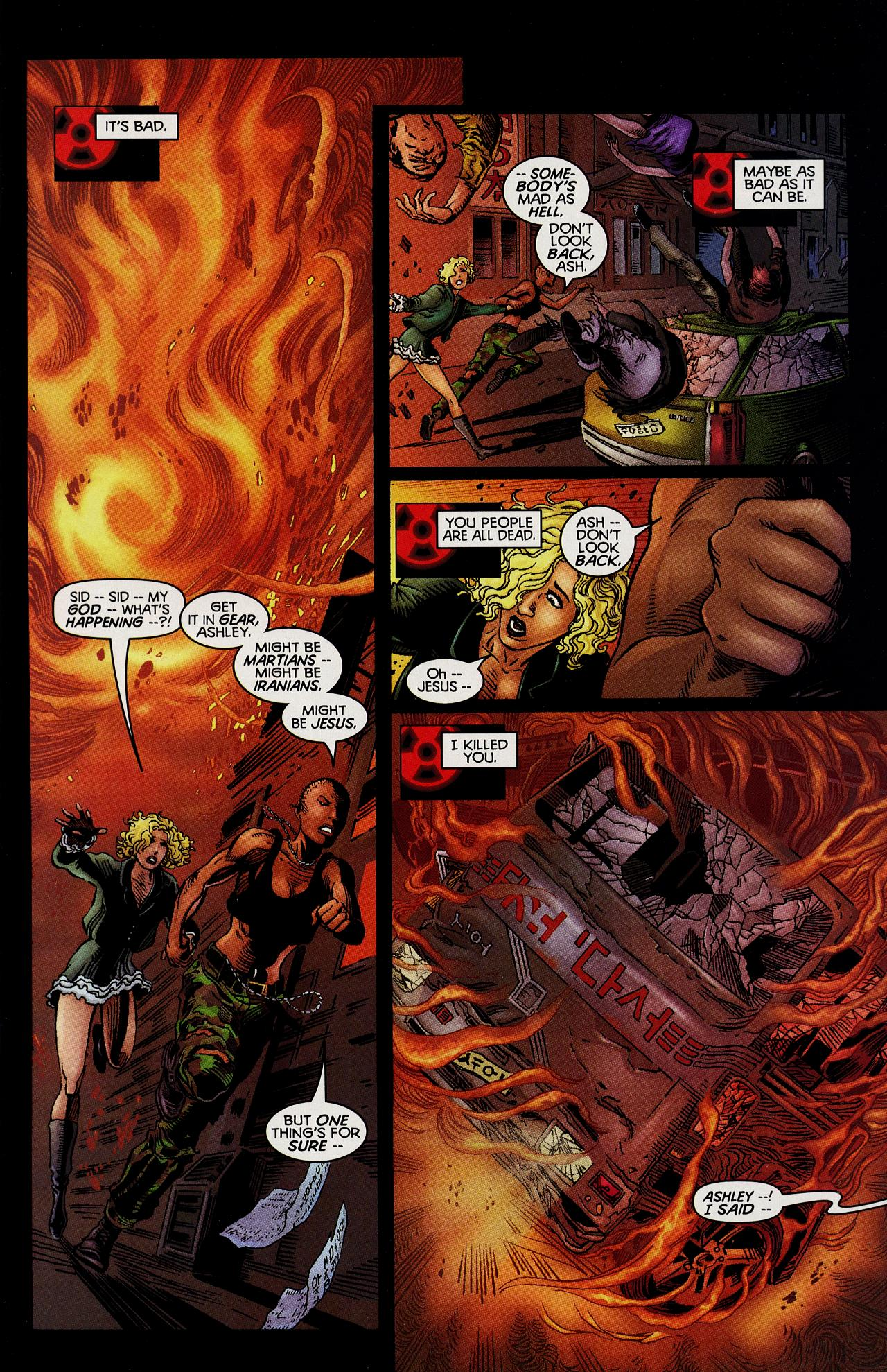 Read online Solar, Man of the Atom: Hell on Earth comic -  Issue #1 - 3