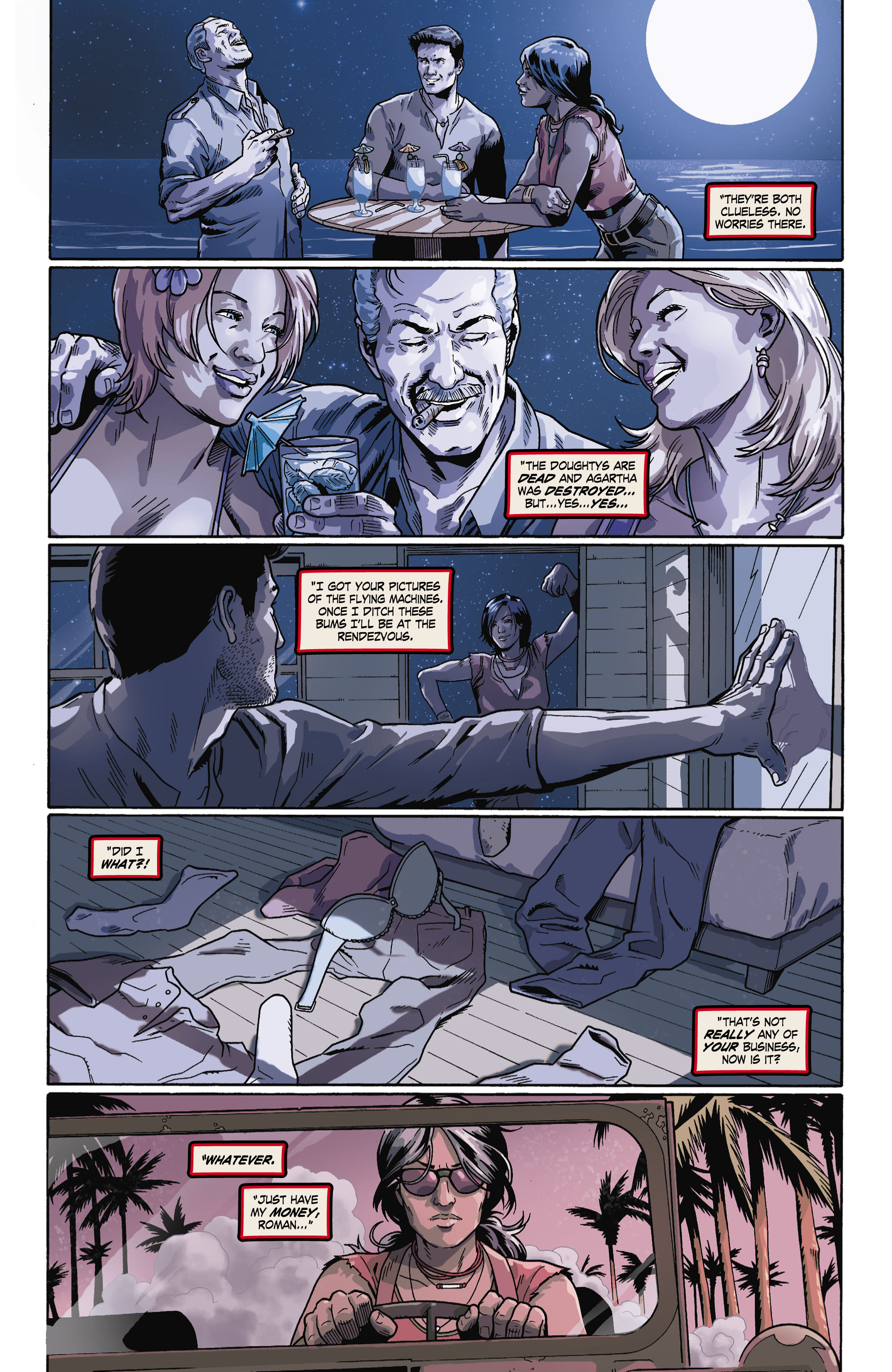 Read online Uncharted comic -  Issue #6 - 19